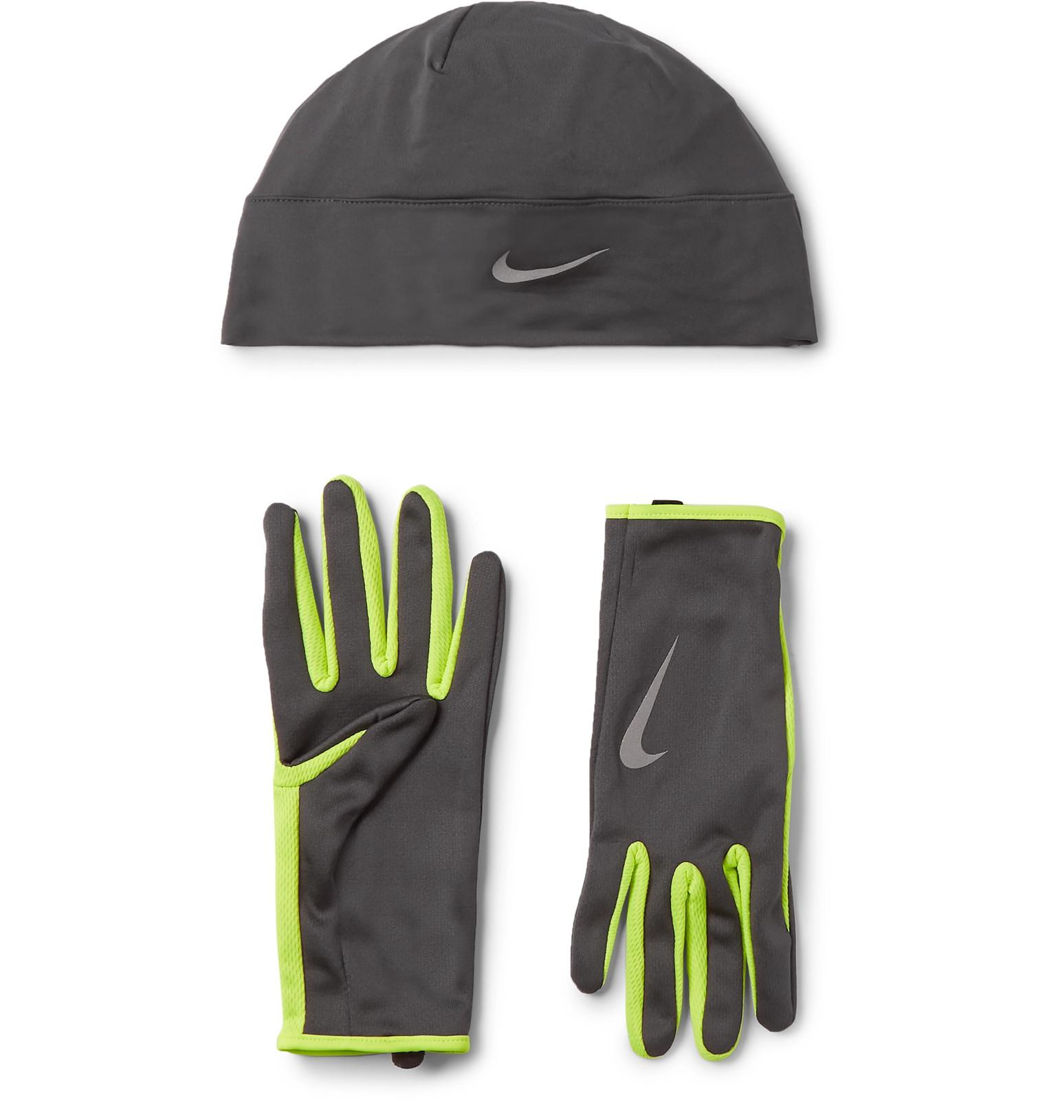 0c7af228b23 Nike Dri-fit Hat And Gloves Set in Gray for Men - Lyst