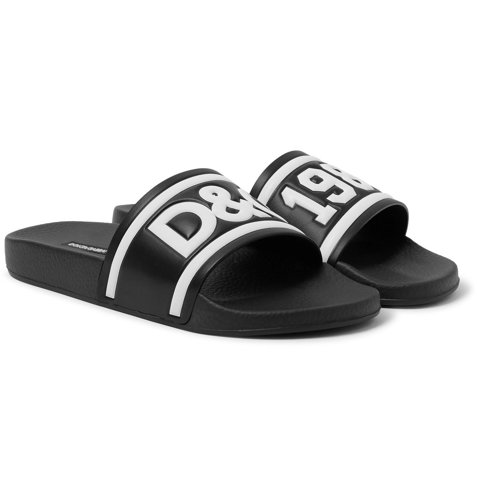 Dolce & Gabbana Rubber Slides mYOH7na1t