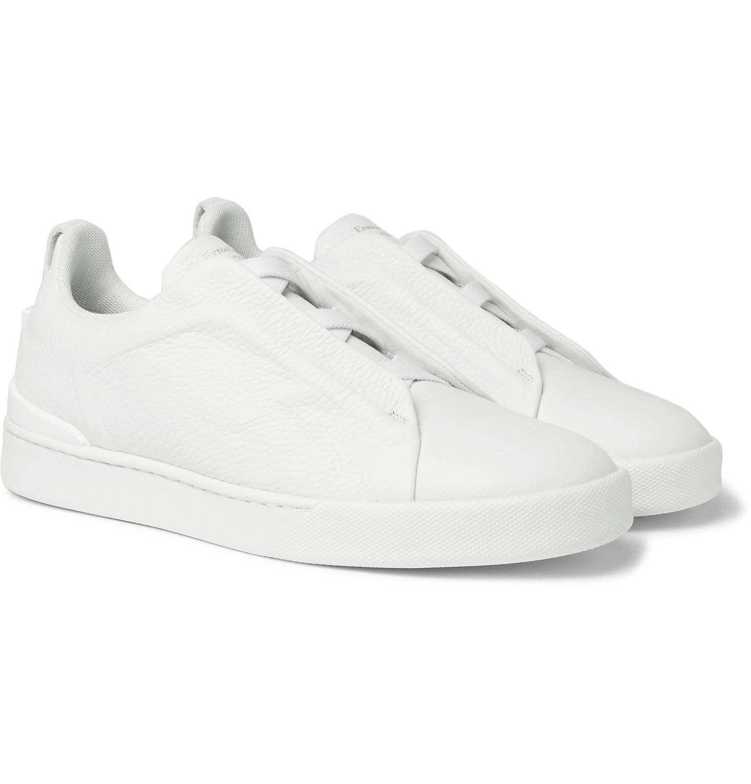 Z Zegna Imperia Leather Slip-On Sneakers fashionable cheap price sale browse nX3VKAxgHo