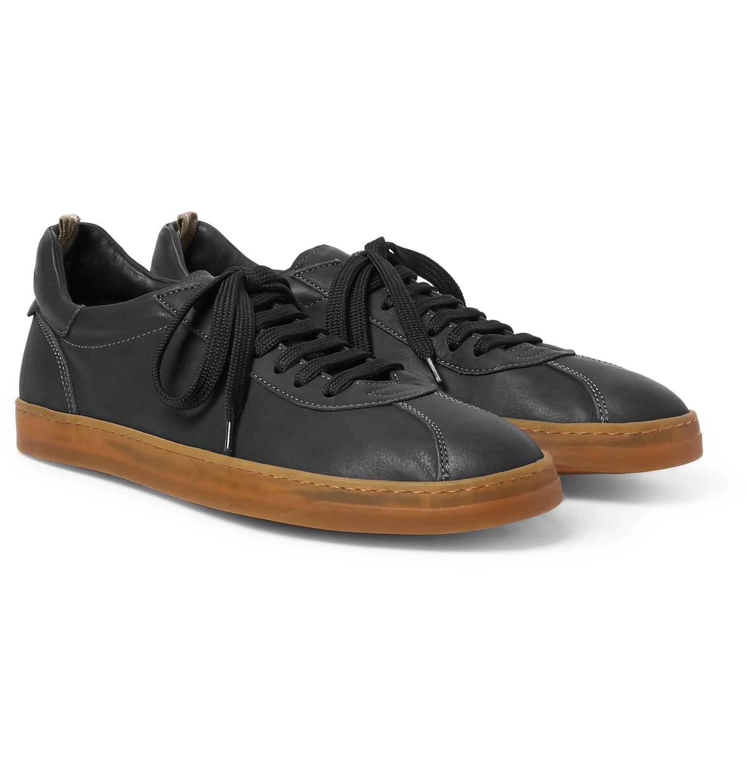 Karma Full-grain Leather Sneakers - Off-whiteOfficine Creative GJNNlKxpkh