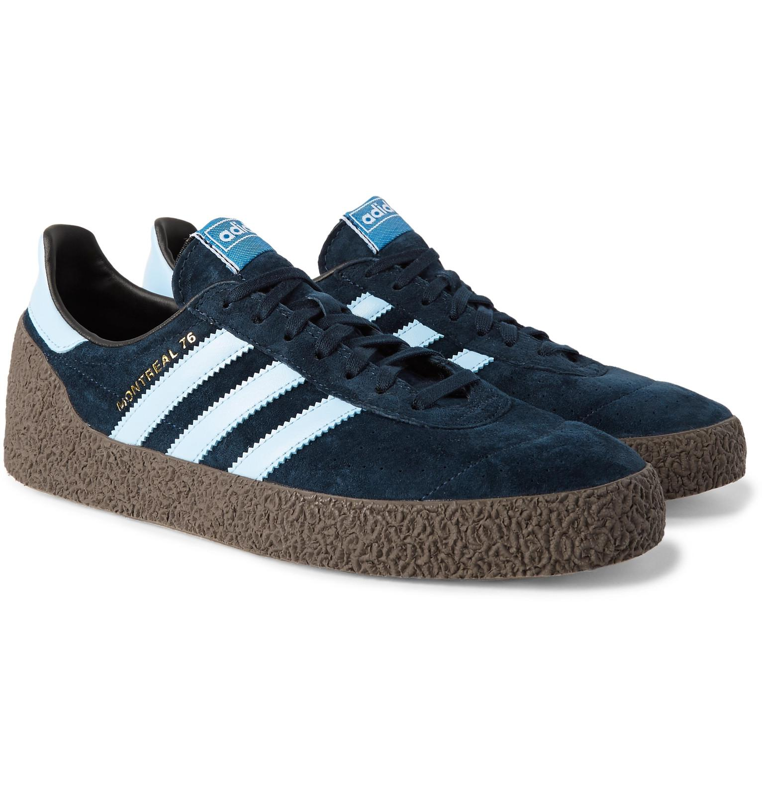 adidas 1IS1EEgbXSal 76 leather sneakers AzF6FRlR