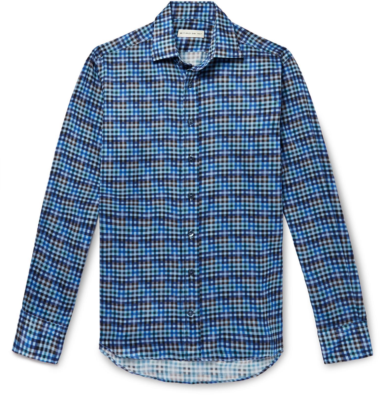 a838e5508a etro-blue-Slim-fit-Checked-Cotton-Shirt.jpeg