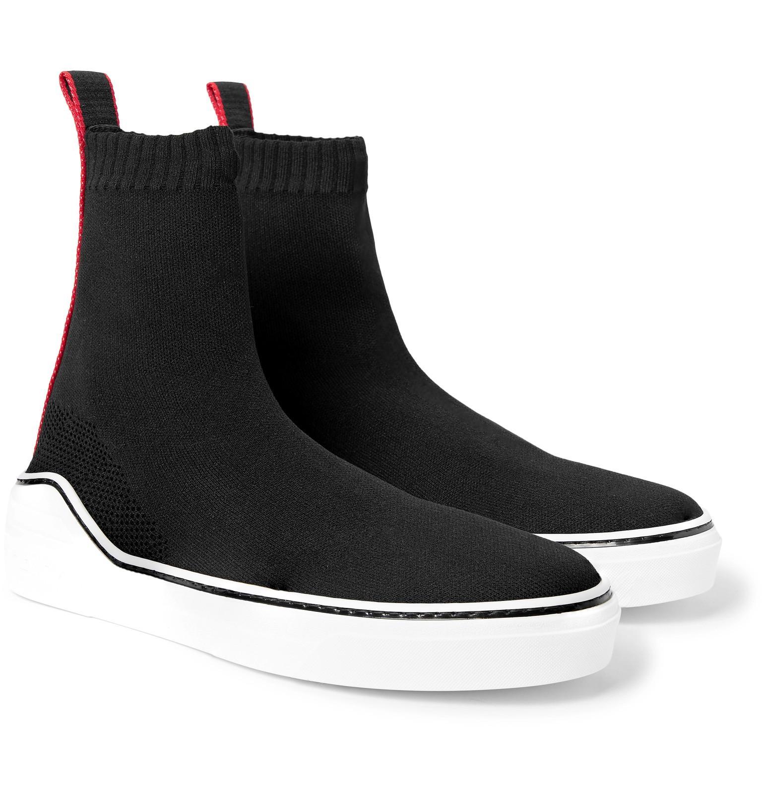 Extensibles En Tricot Garni De Gros-grain-chaussures Haut-dessus Givenchy 9ZWQZ6Zj