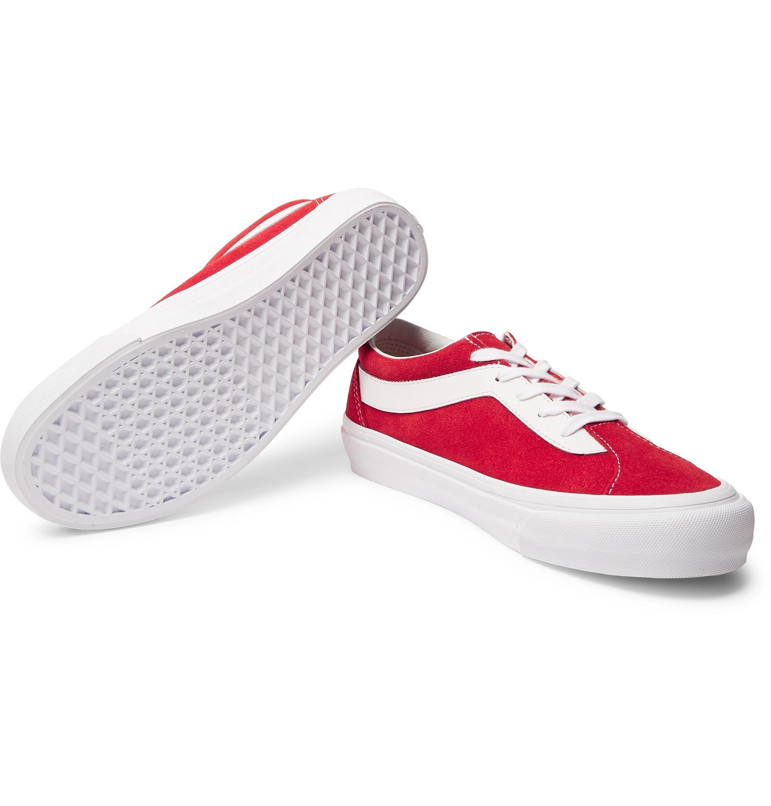 88bcb73d580a0d vans-red-Staple-Bold-Ni-Suede-And-Leather-Sneakers.jpeg