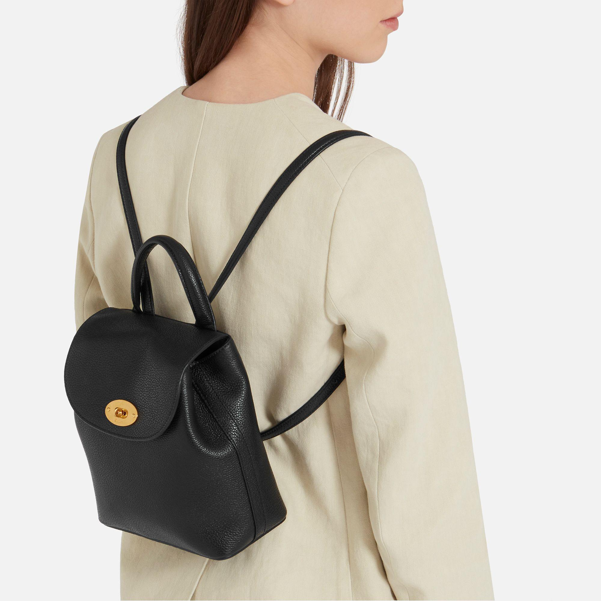 c0295dced15 ... netherlands mulberry black mini bayswater backpack lyst. view  fullscreen 19d03 68fc1