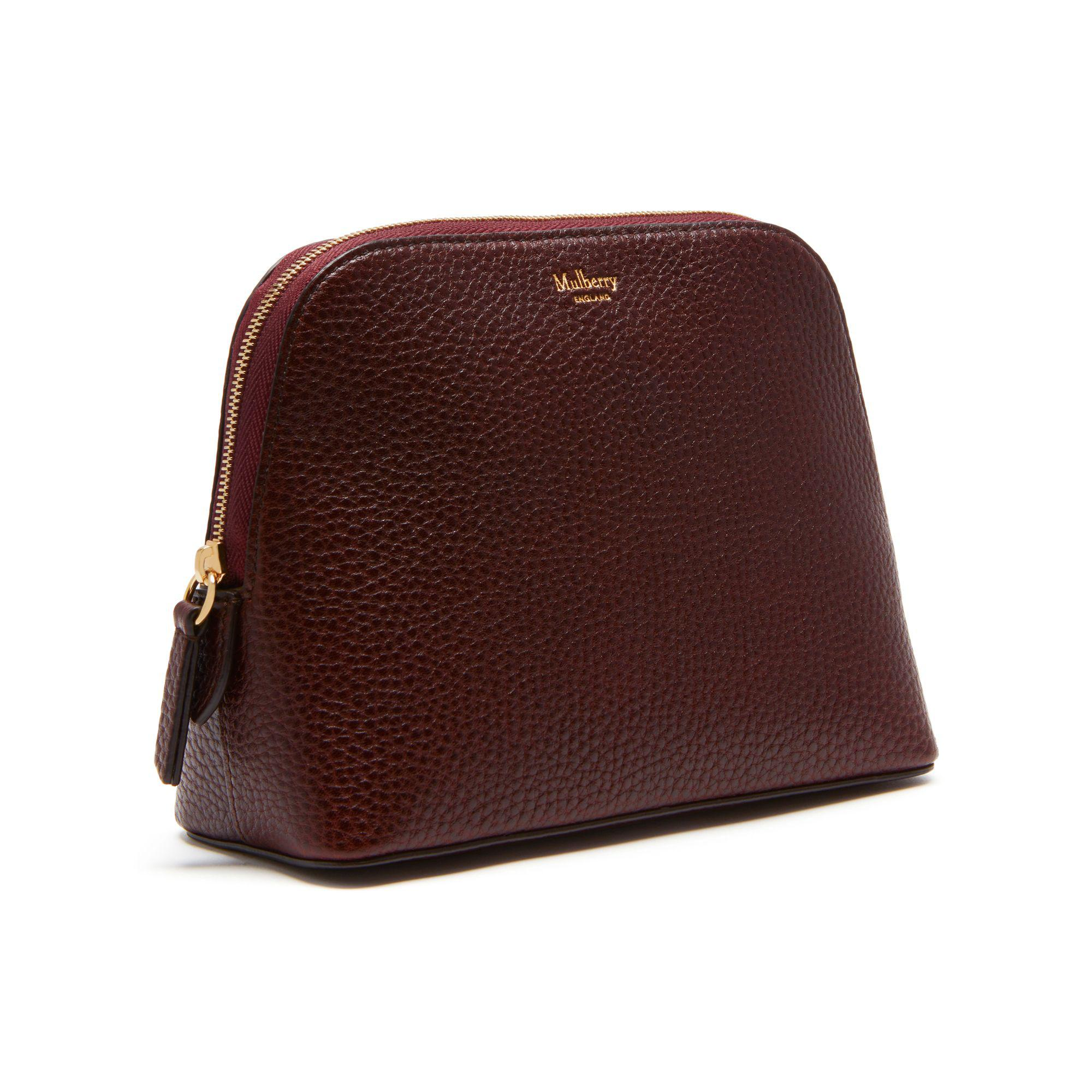 0d66a4ac294e new zealand mulberry oxblood bayswater 63259 f7cf1  top quality mulberry  multicolor cosmetic pouch lyst. view fullscreen 049f5 772a4