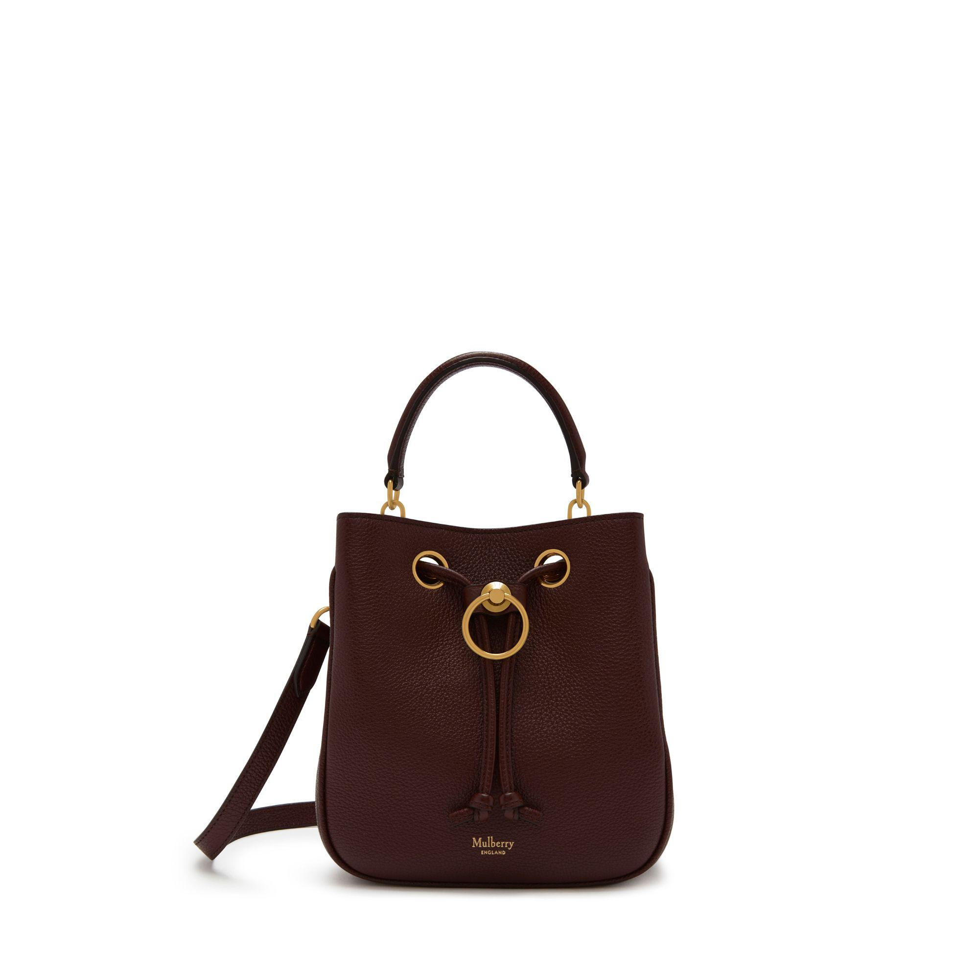 Mulberry. Women s Small Hampstead In Burgundy Small Classic Grain ae82f014c48bb