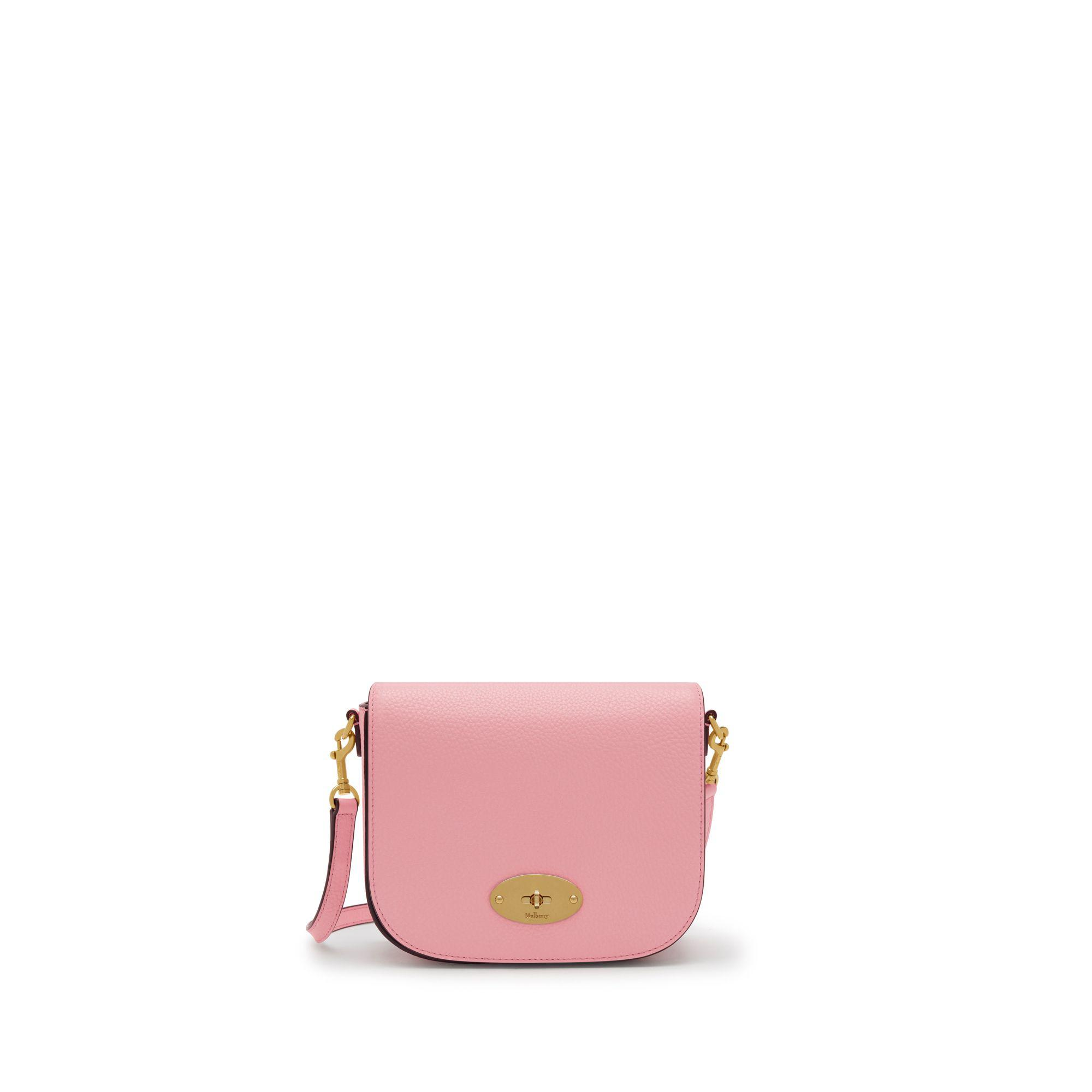 abfc16782cfb Mulberry - Small Darley Satchel In Sorbet Pink Small Classic Grain - Lyst.  View fullscreen