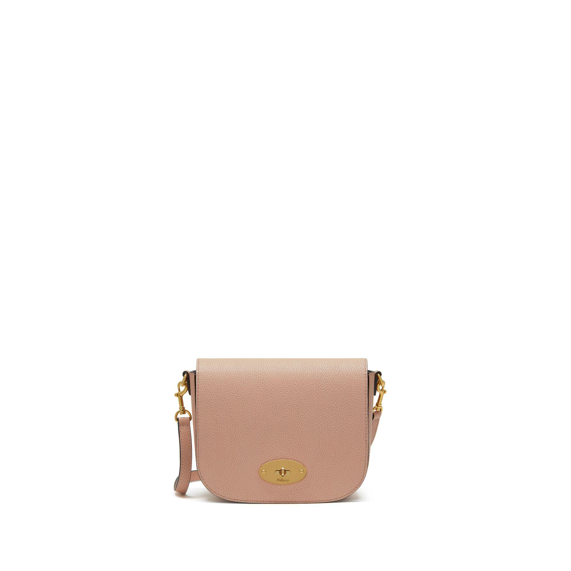 d97b89086b3b Mulberry - Multicolor Small Darley Satchel In Rosewater Small Classic Grain  - Lyst. View fullscreen