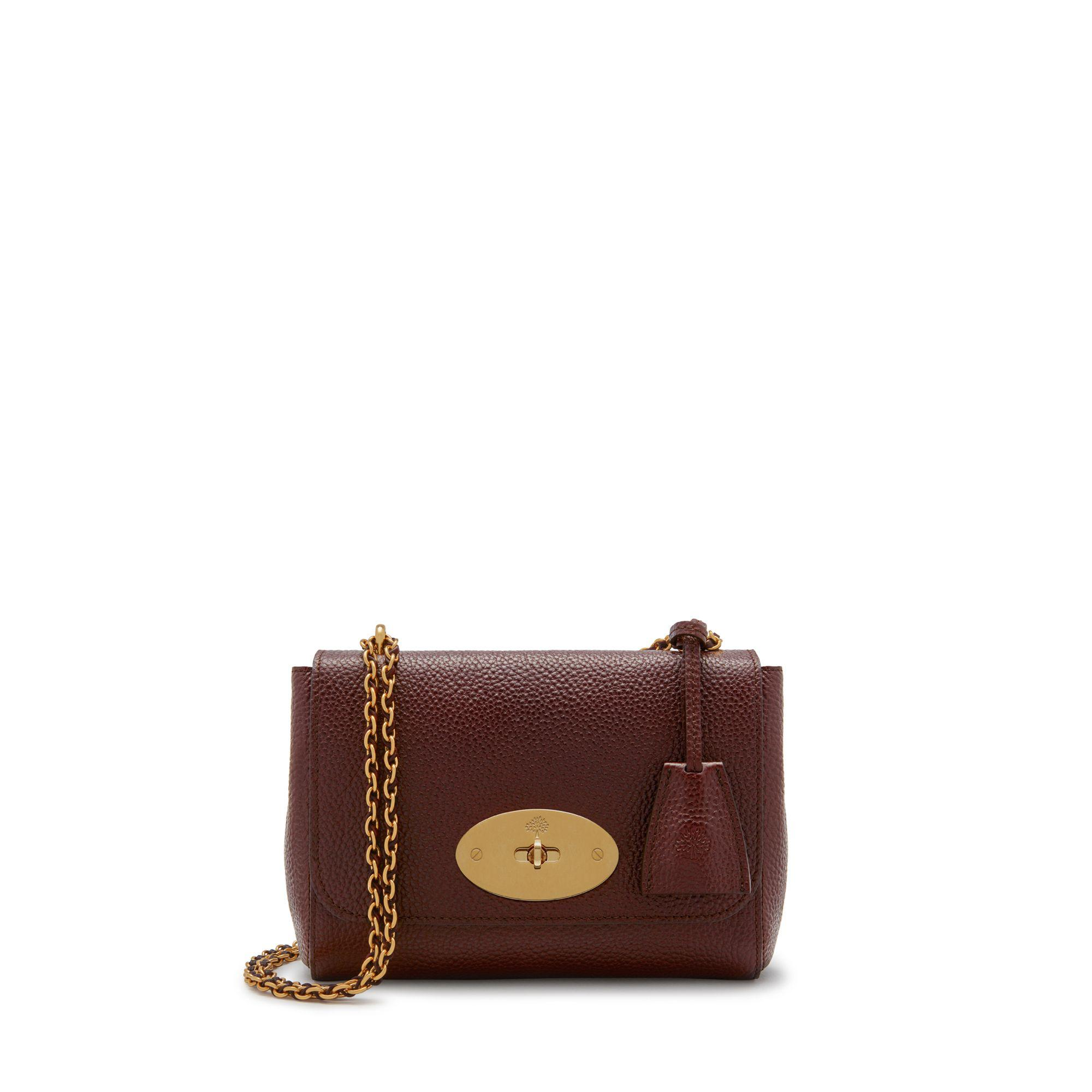 8b3388d7a983 Lyst - Mulberry Lily In Oxblood Natural Grain Leather in Brown