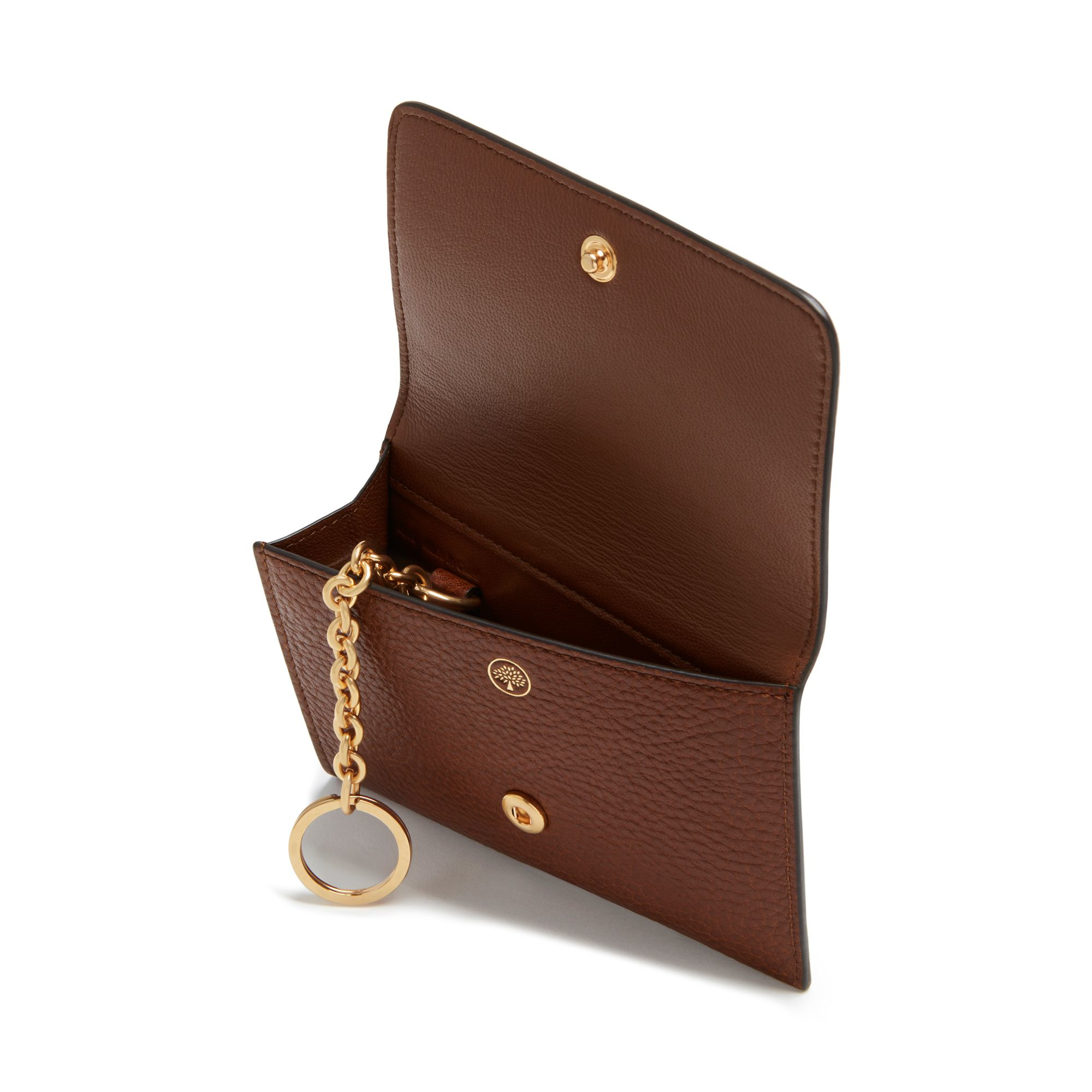 f5778508a7 Lyst - Mulberry Continental Leather Key Coin Pouch in Brown
