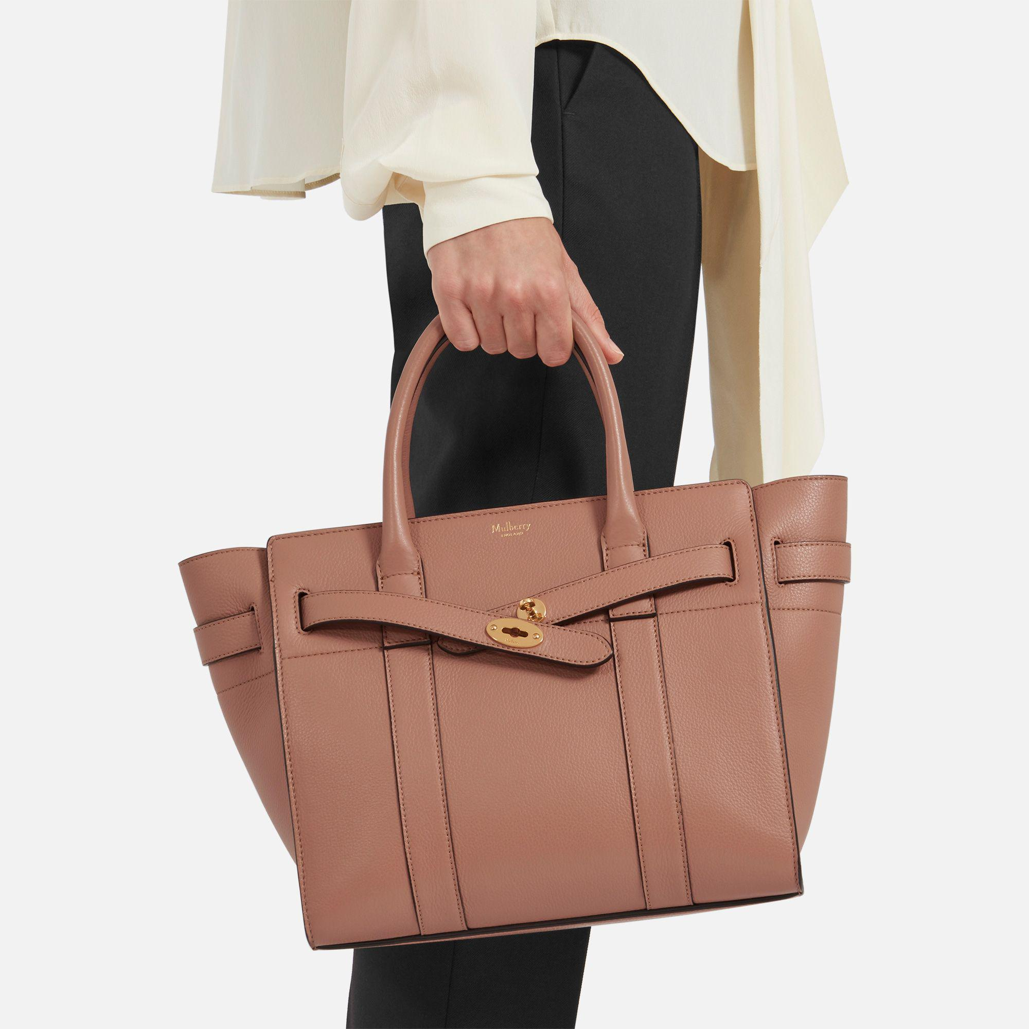 9737f20b4dc ... purchase mulberry brown small zipped bayswater lyst. view fullscreen  11ef6 9ccc9 ...