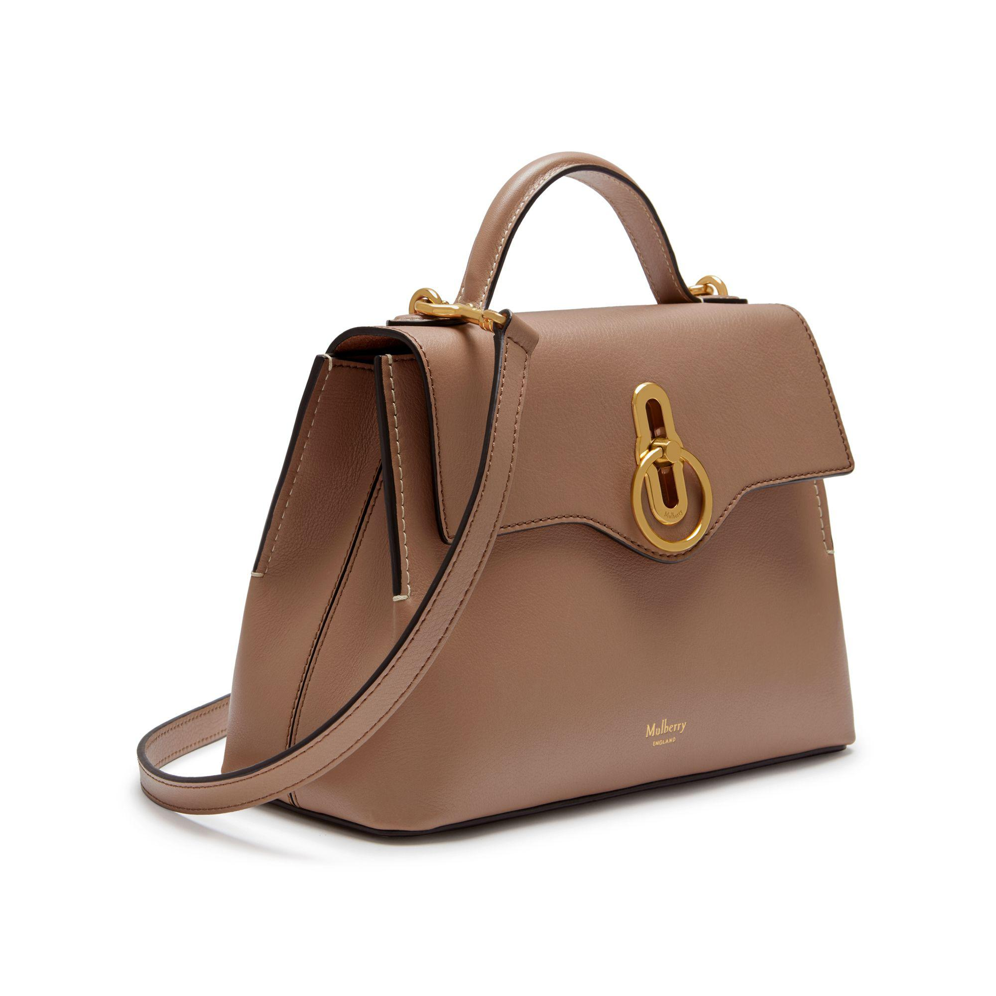 Lyst - Mulberry Mini Seaton in Brown 1d1ddc3a30c69