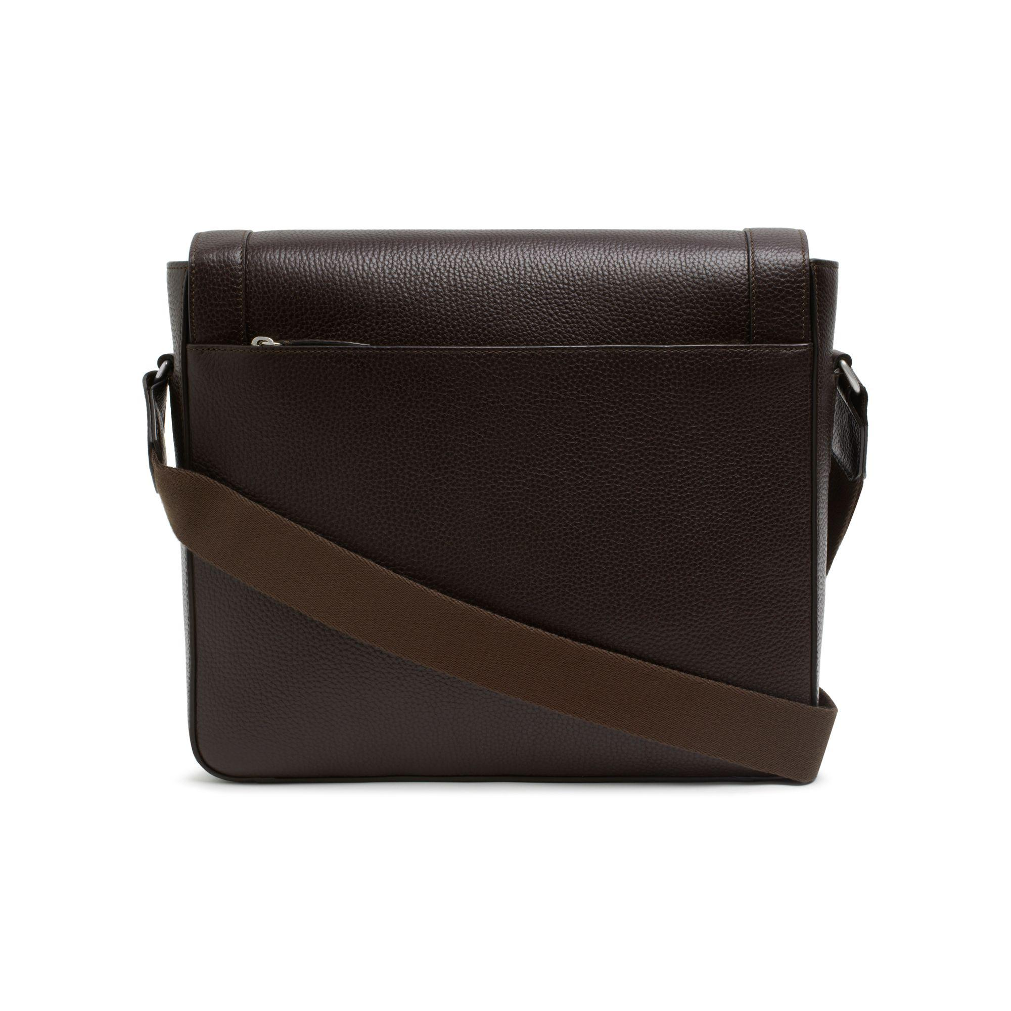 2ebe989930 141ca bbefb  promo code lyst mulberry belgrave messenger in brown for men  ea40e 0d820