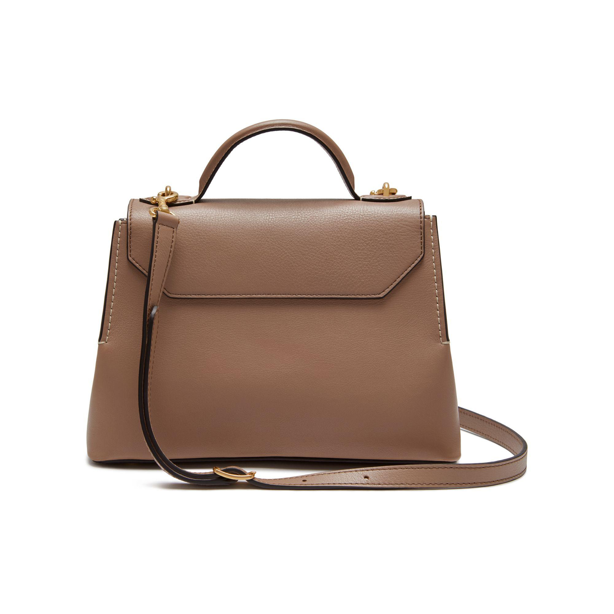 Mulberry Mini Seaton in Brown - Lyst 2a066a1218b0a