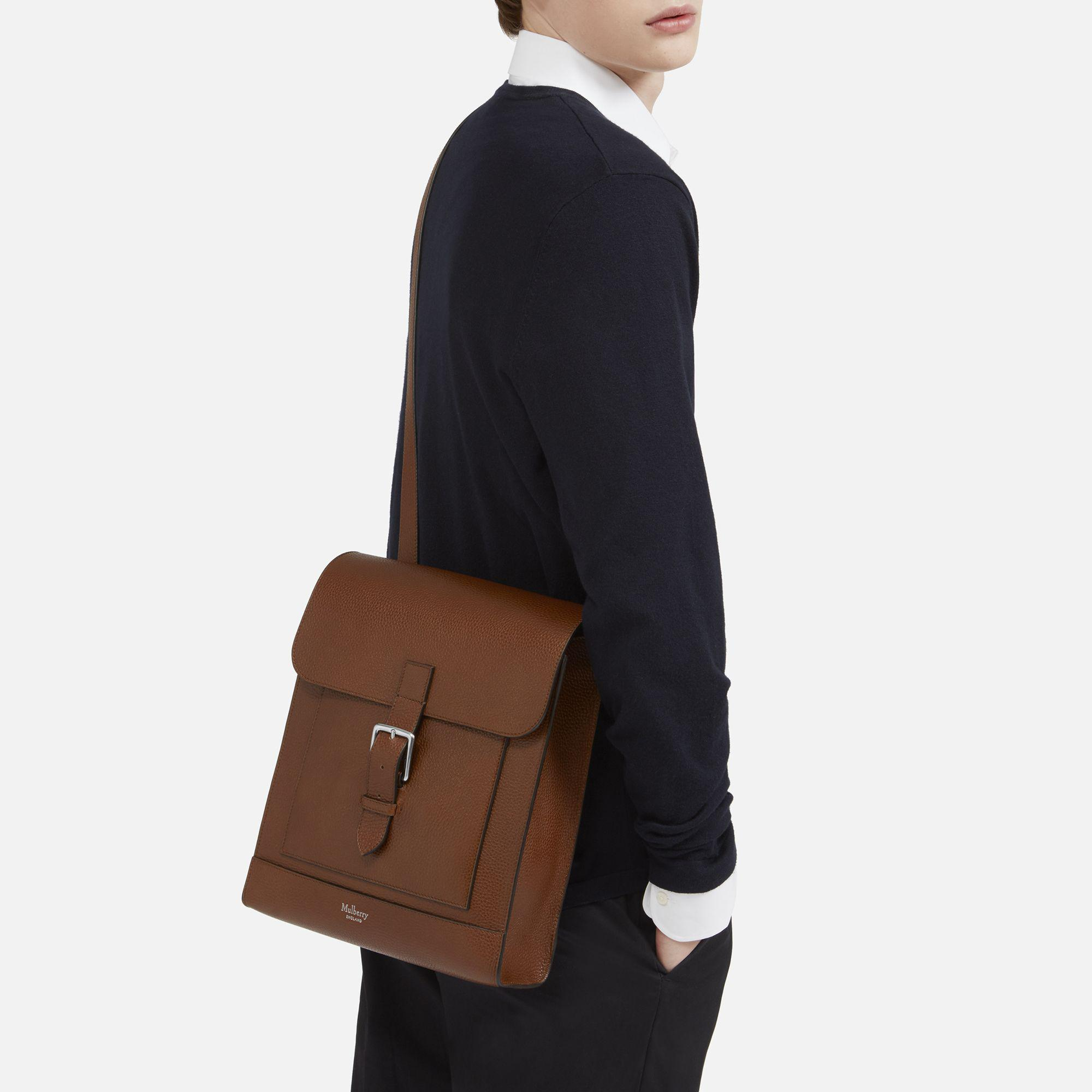... promo code mulberry chiltern messenger in brown for men lyst ae504 18c9b 50cd0c8905c90
