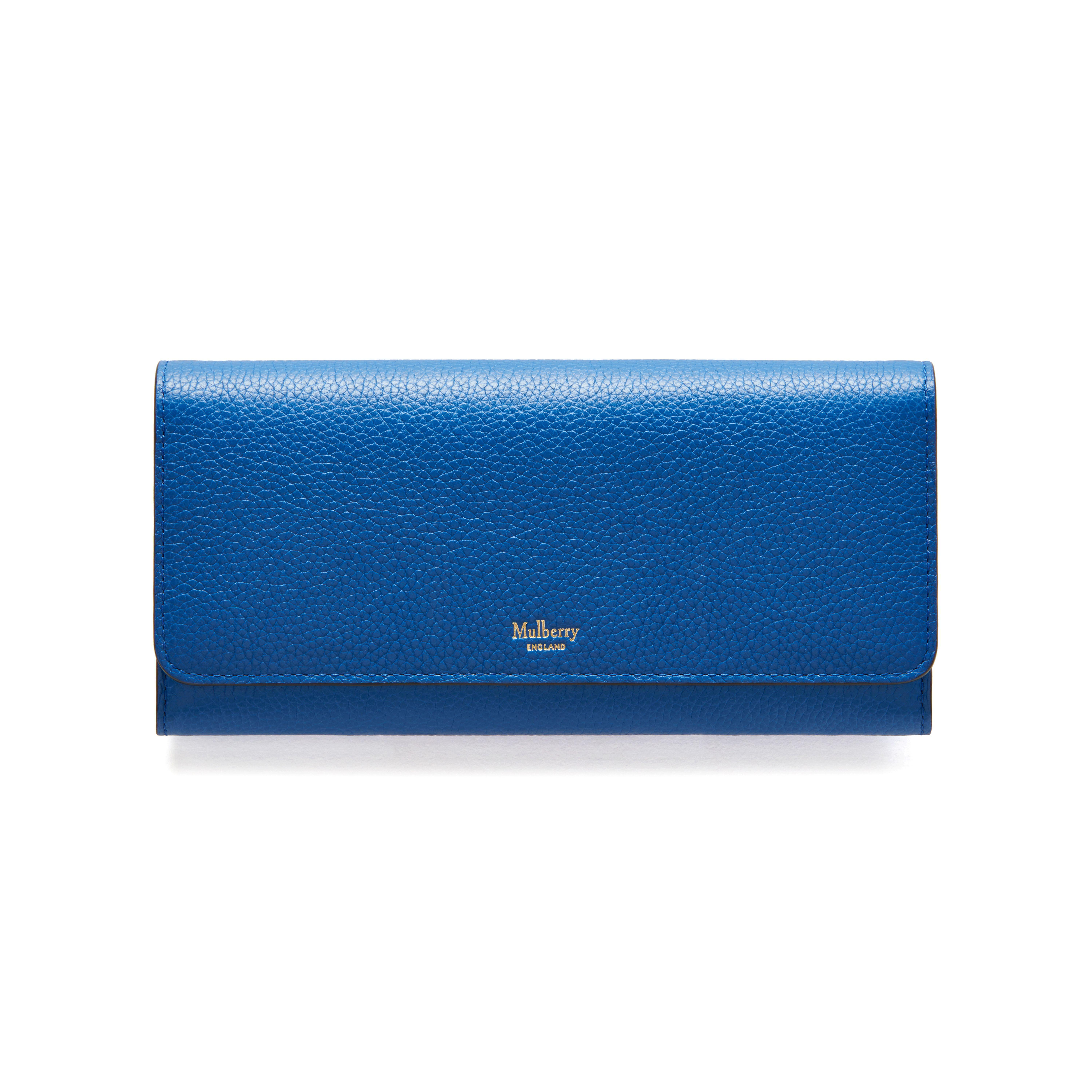 b0a0f6860c23 ... inexpensive lyst mulberry continental wallet in blue 14197 ef17f