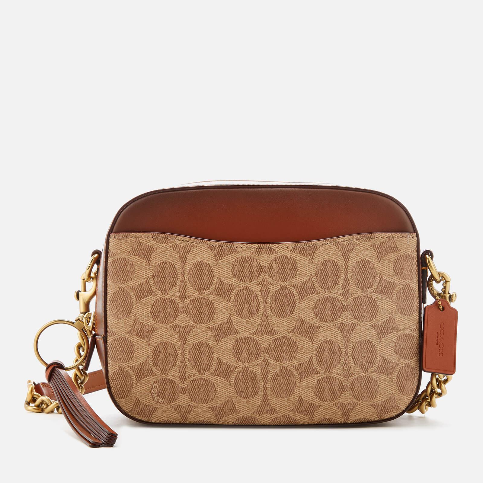 Lyst - Coach Camera Bag in Brown