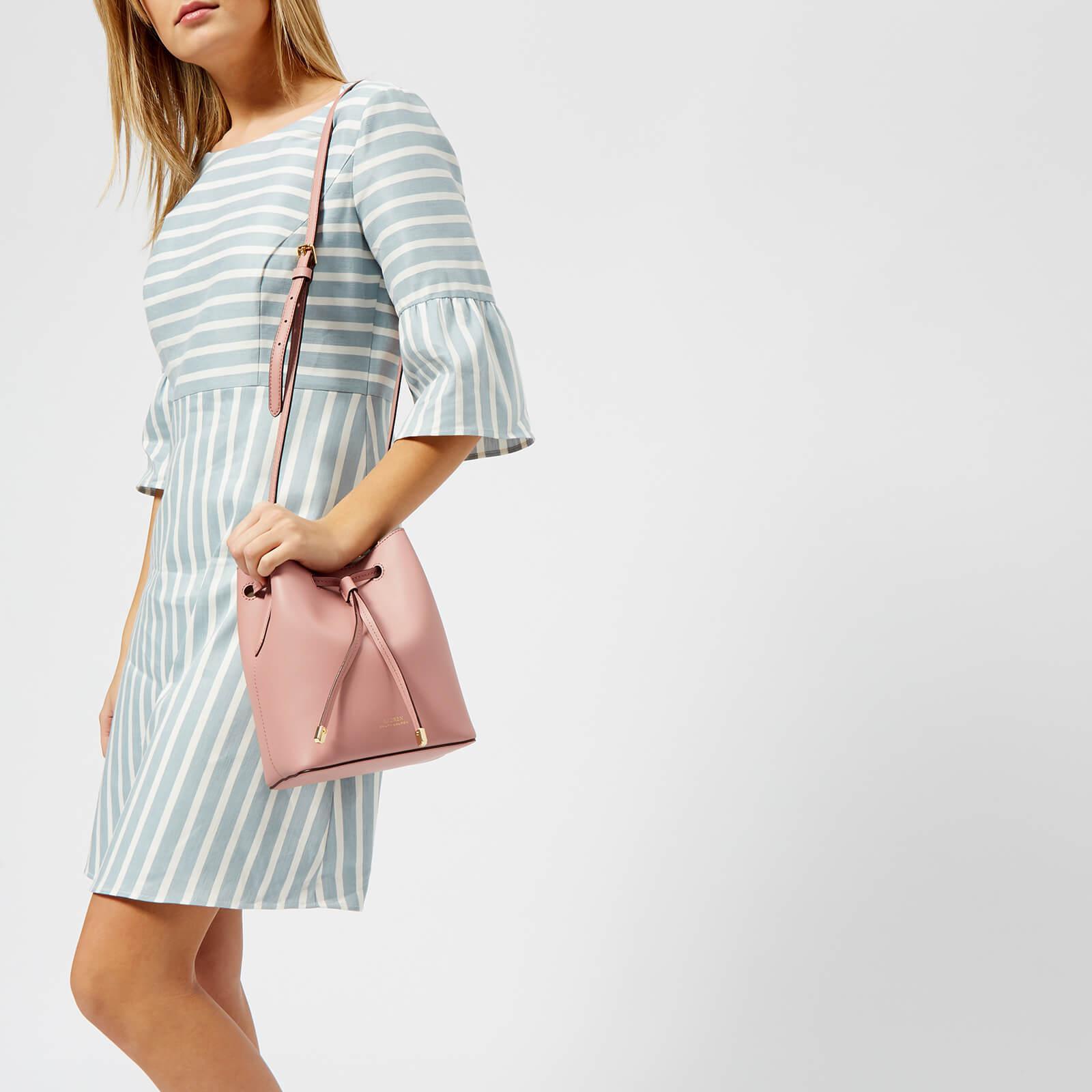 509ee0f572550 Lyst - Lauren by Ralph Lauren Dryden Debby Mini Drawstring Bag in Pink