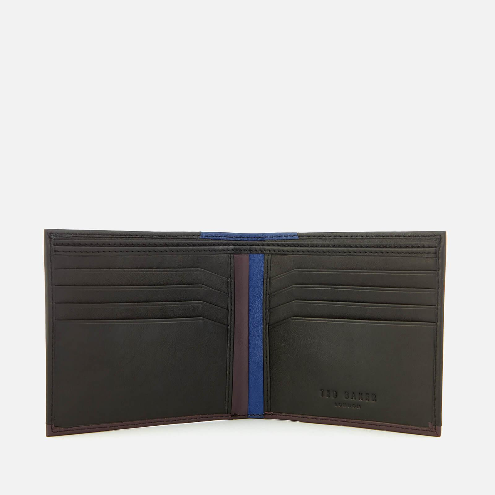 5e2d61fe173f5d Lyst - Ted Baker Baldi Corner Detail Bifold Wallet in Black for Men