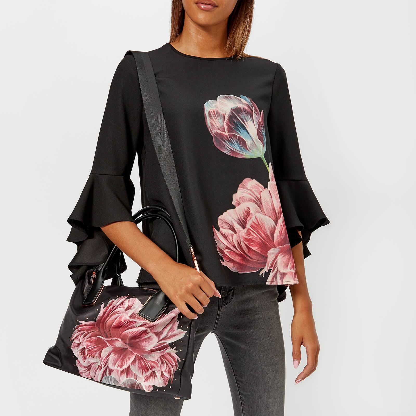 deb8d51fb37208 Lyst ted baker llisa tranquility small nylon tote bag jpg 1600x1600 Tote bag  tranquility floral