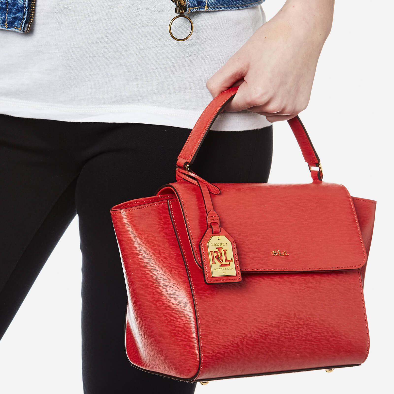 Lyst - Ralph Lauren Barclay Cross Body Bag in Red 634daa012f
