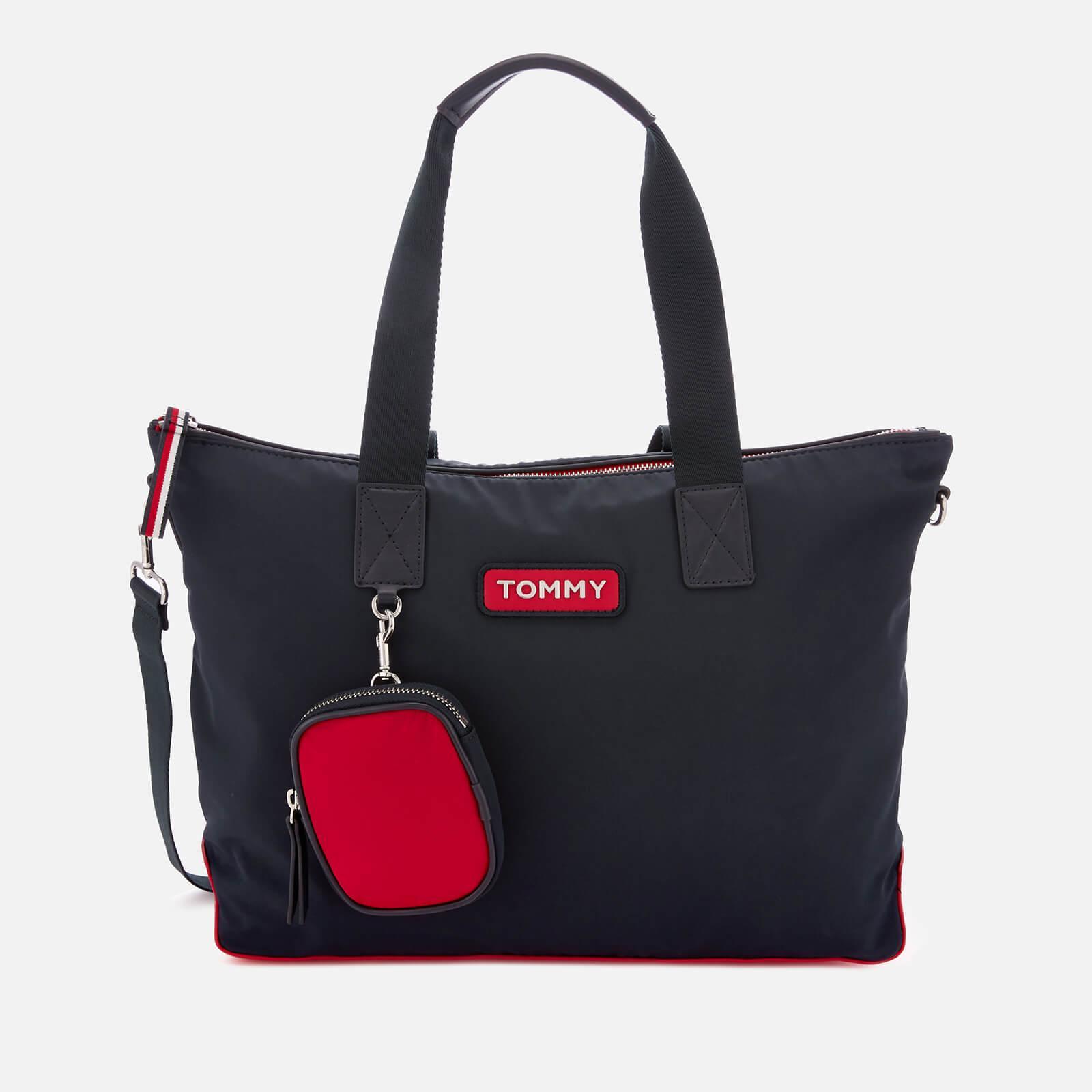 d0c7d7d1 Tommy Hilfiger. Women's Varsity Nylon Tote Bag