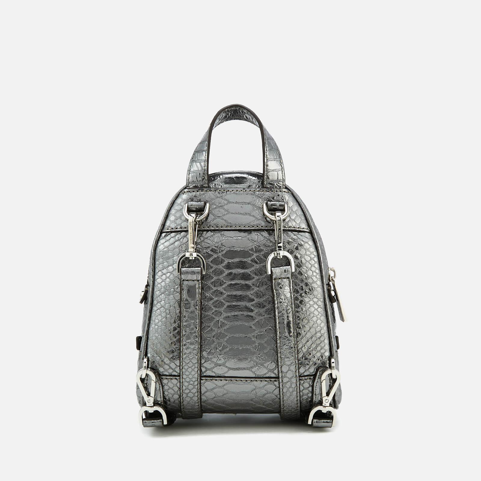 6b75b54b8868 Lyst - MICHAEL Michael Kors Rhea Zip Extra Small Messenger Backpack