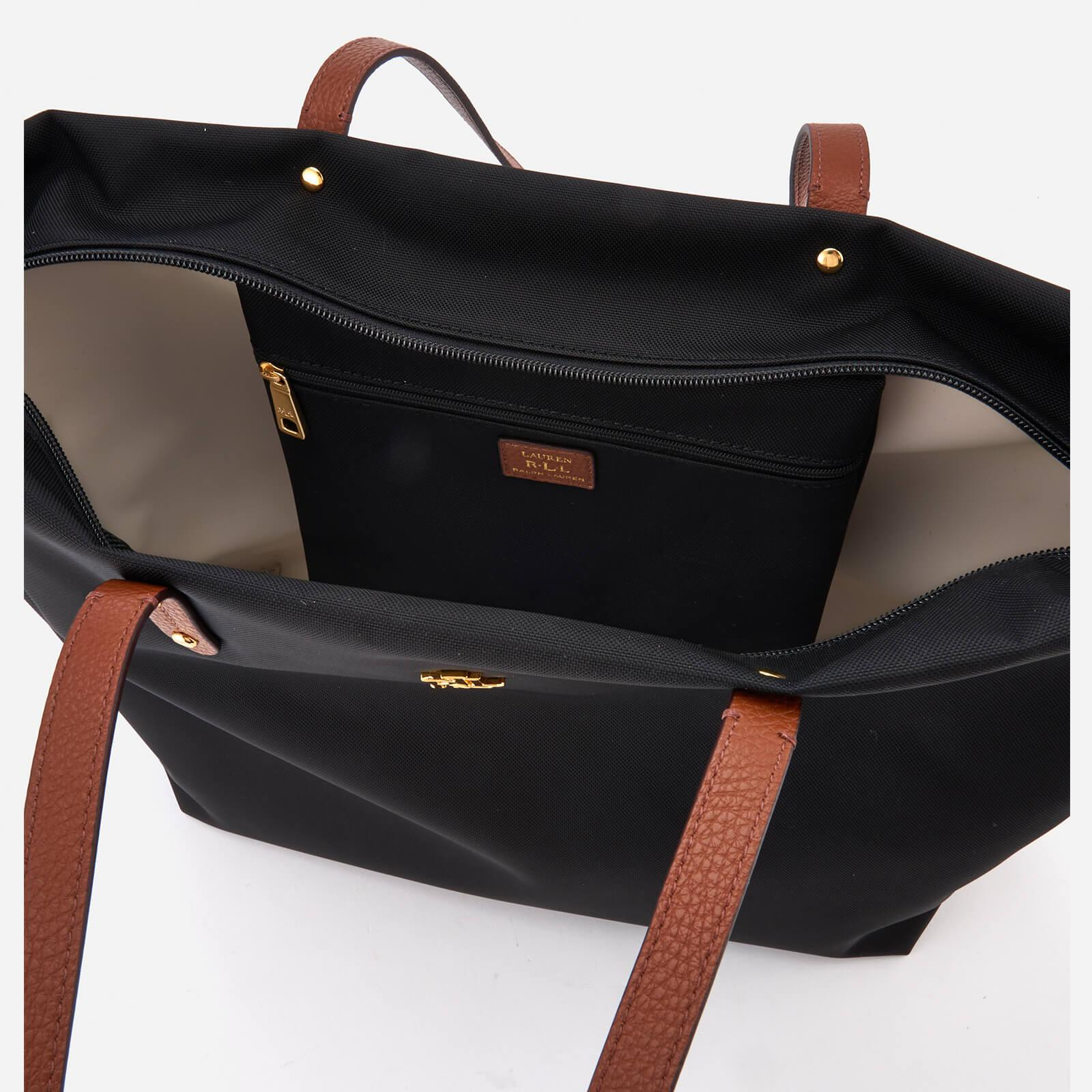 Lauren by Ralph Lauren Bainbridge Tote Bag in Black - Lyst b42653b1747b7