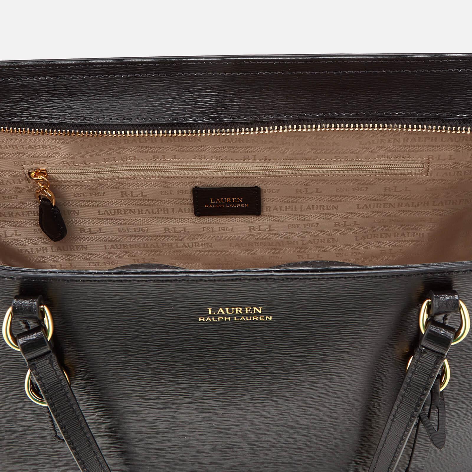 d96b6ba59 Lauren by Ralph Lauren Bennington Tote Bag in Black - Lyst