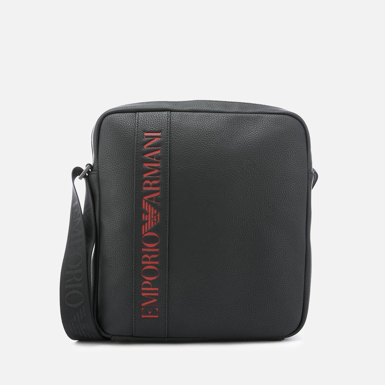 Lyst - Emporio Armani Cross Body Bag in Black for Men 5ed0b1649c358