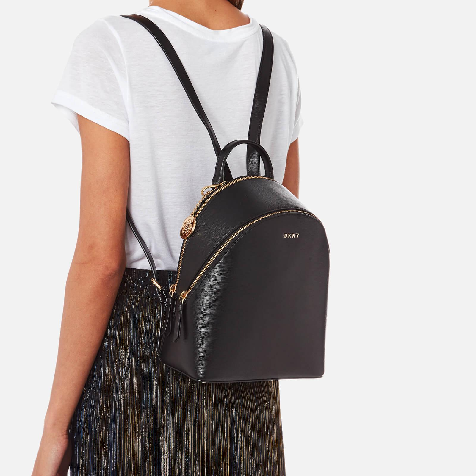 DKNY Bryant Medium Backpack in Black - Lyst 4f605dd7f0fc5