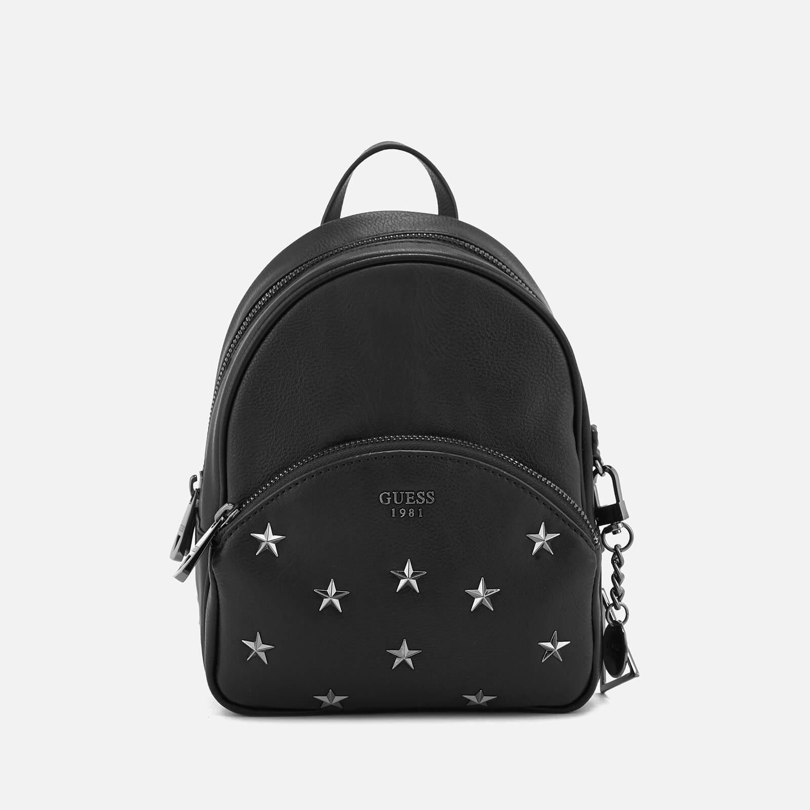 f0c4f6d8974e Lyst - Guess Bradyn Small Backpack in Black