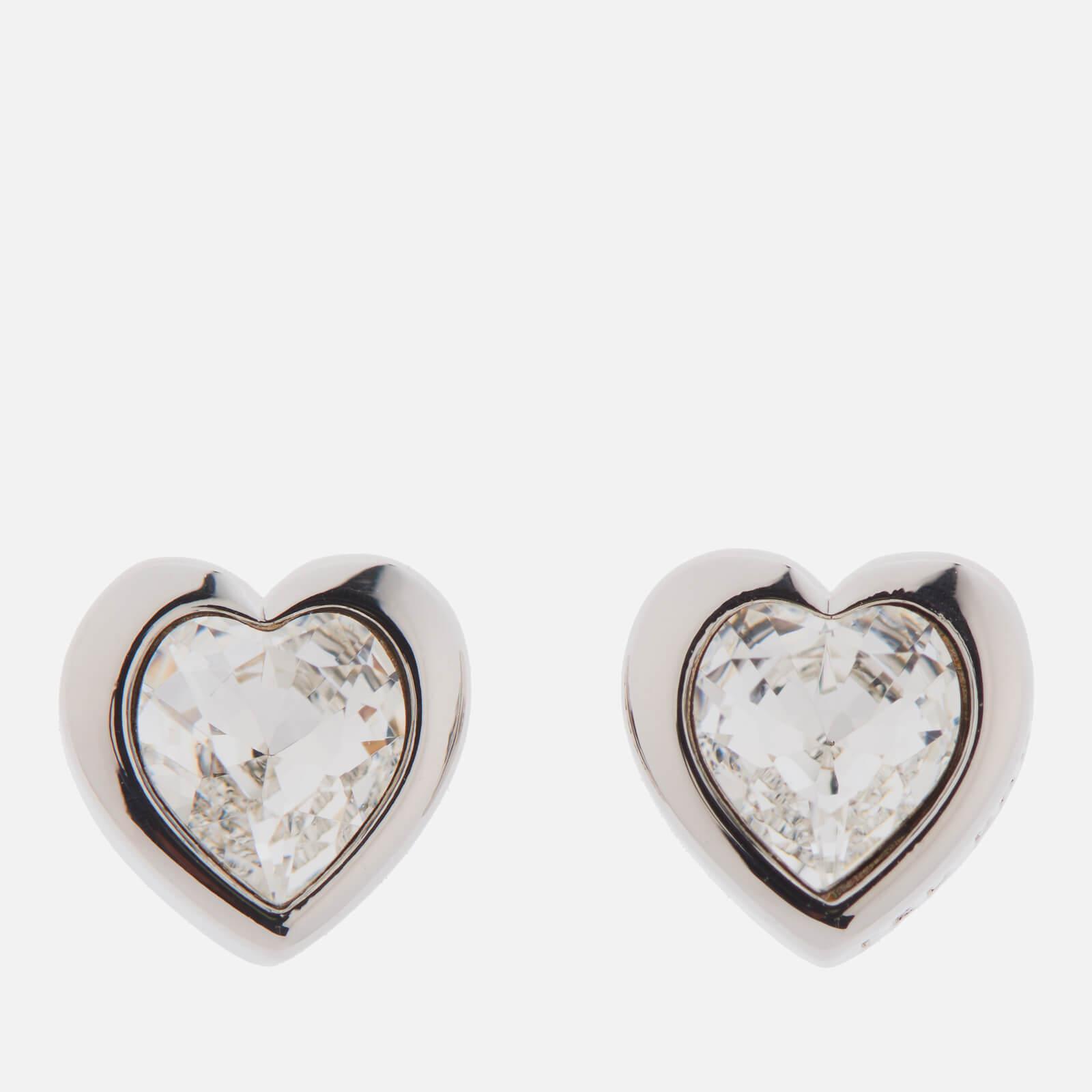Ted Baker Women S Metallic Han Swarovski Crystal Heart Earrings