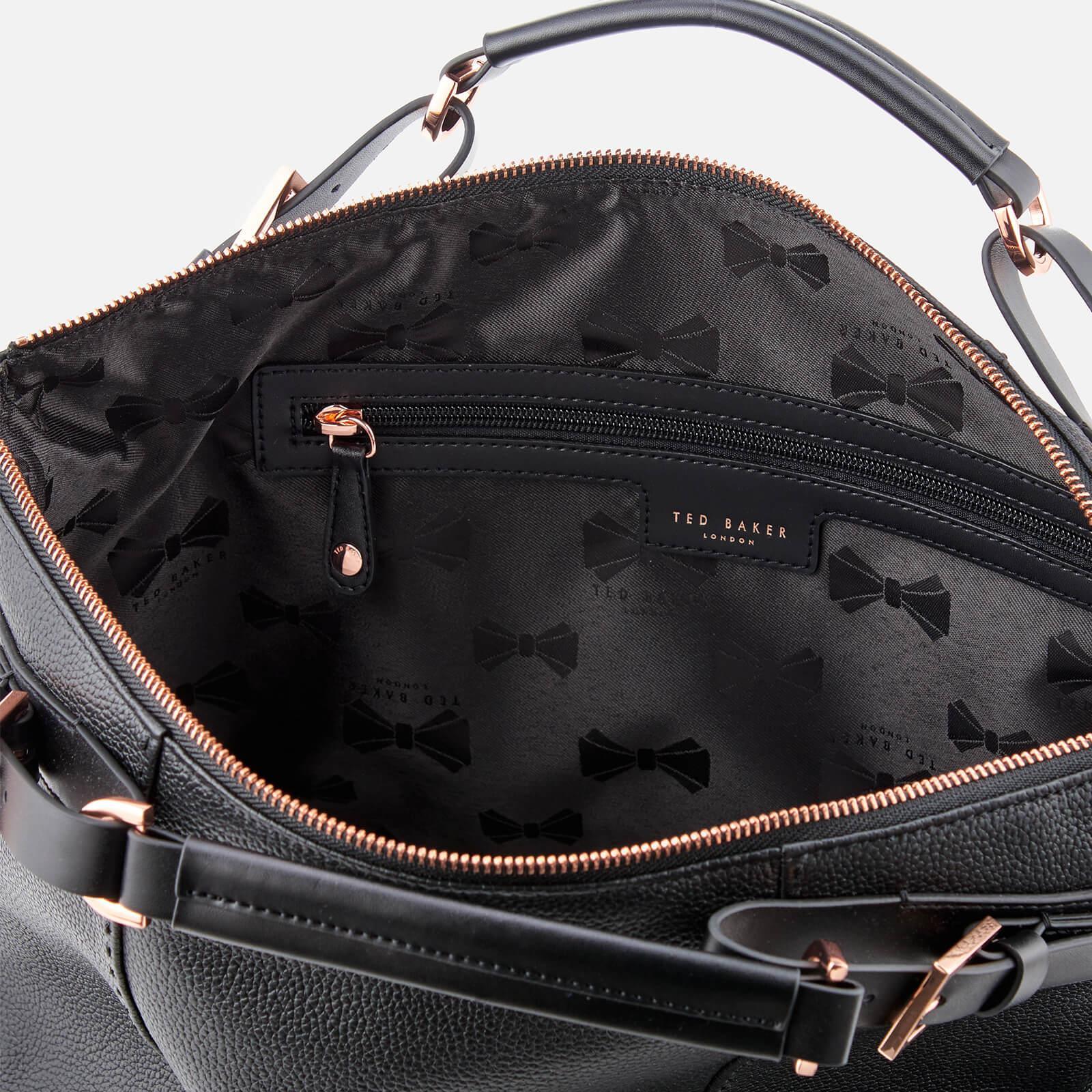 58bc72582 Lyst - Ted Baker Salbee Pop Handle Large Tote Bag in Black