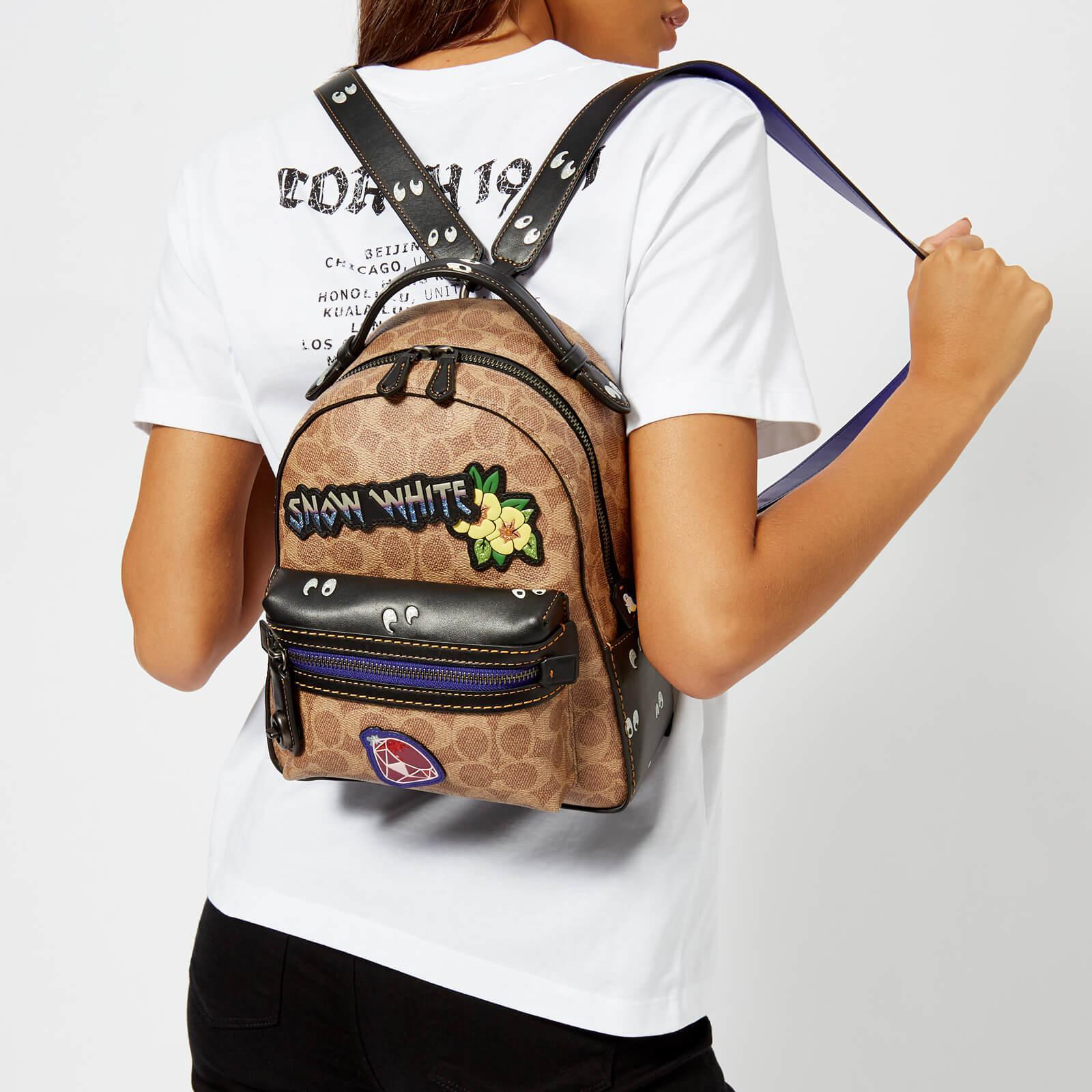 691b0cb9b COACH Disney X Coach Coated Canvas Snow White Campus Backpack 23 - Lyst