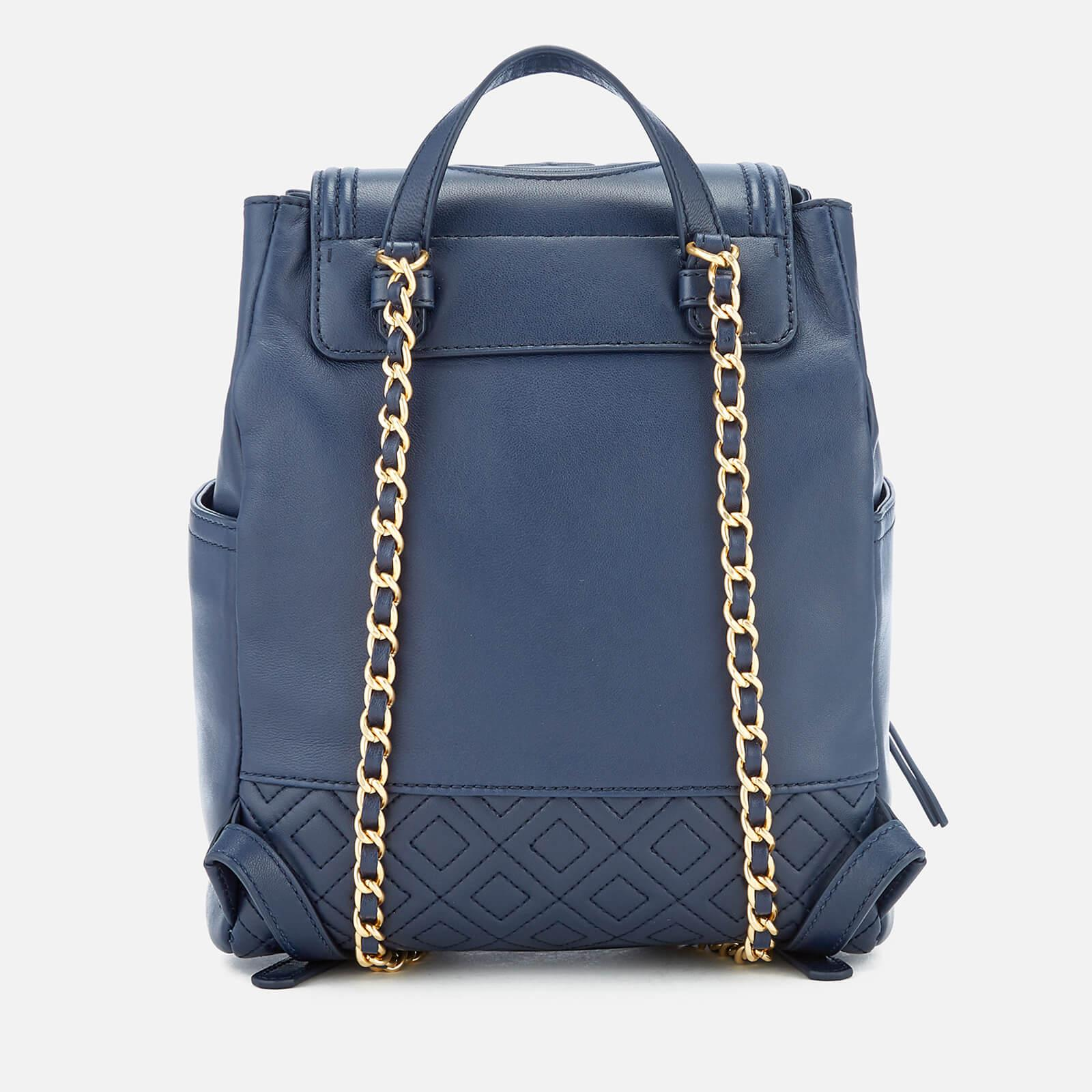 a5a327edda35 Tory Burch - Blue Fleming Backpack - Lyst. View fullscreen