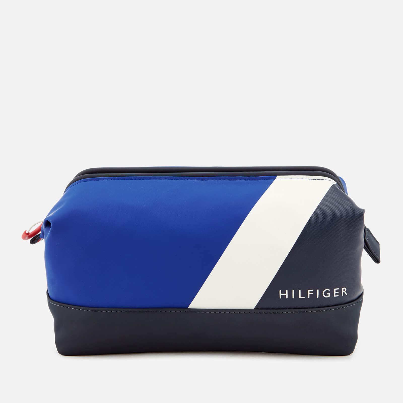 b85ef2a398d Lyst - Tommy Hilfiger Block Story Wash Bag in Blue for Men