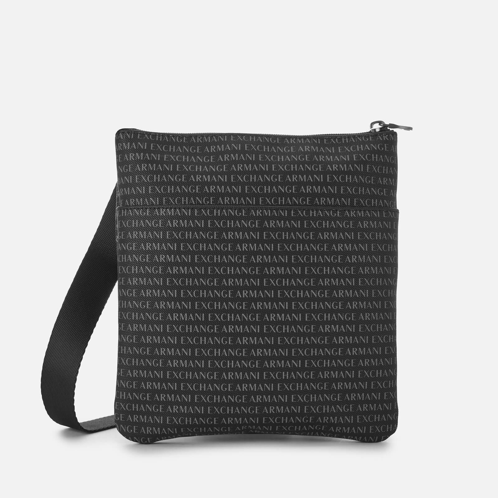 deb49aa23853 Lyst - Armani Exchange All Over Print Cross Body Bag in Black for Men