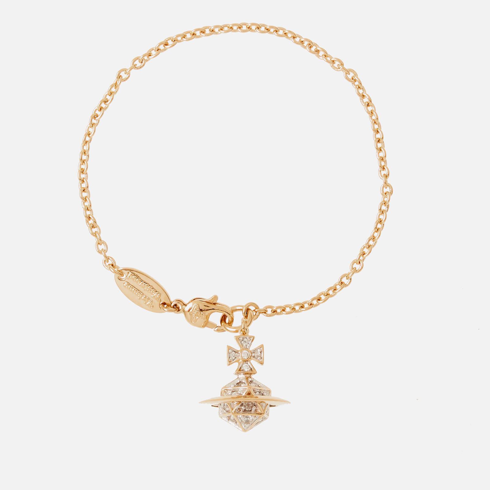 4e9bdb3322 Vivienne Westwood Bessie Orb Bracelet in Metallic - Lyst