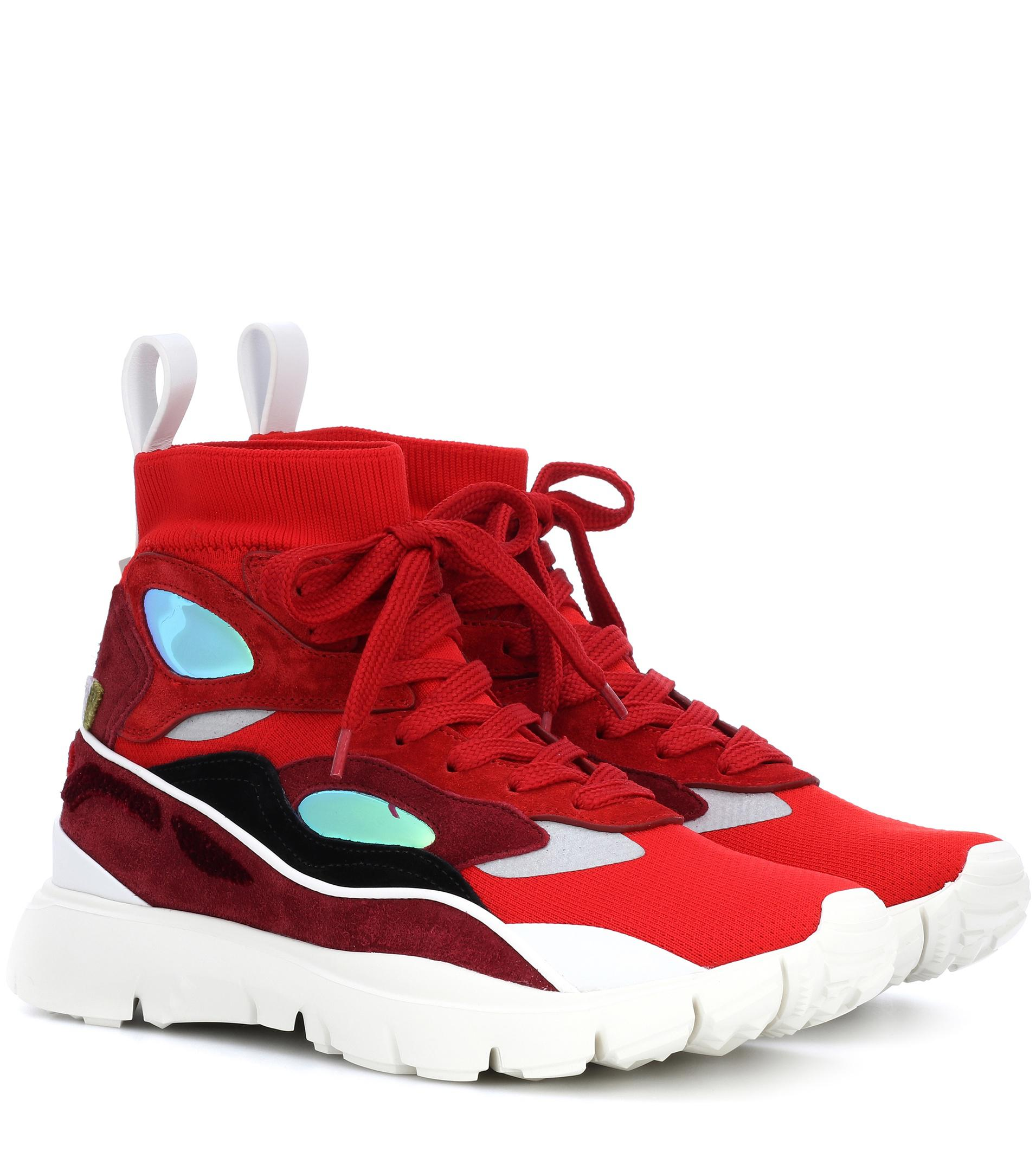 58815a7494a67 Lyst - Valentino Heroes Sneakers in Red