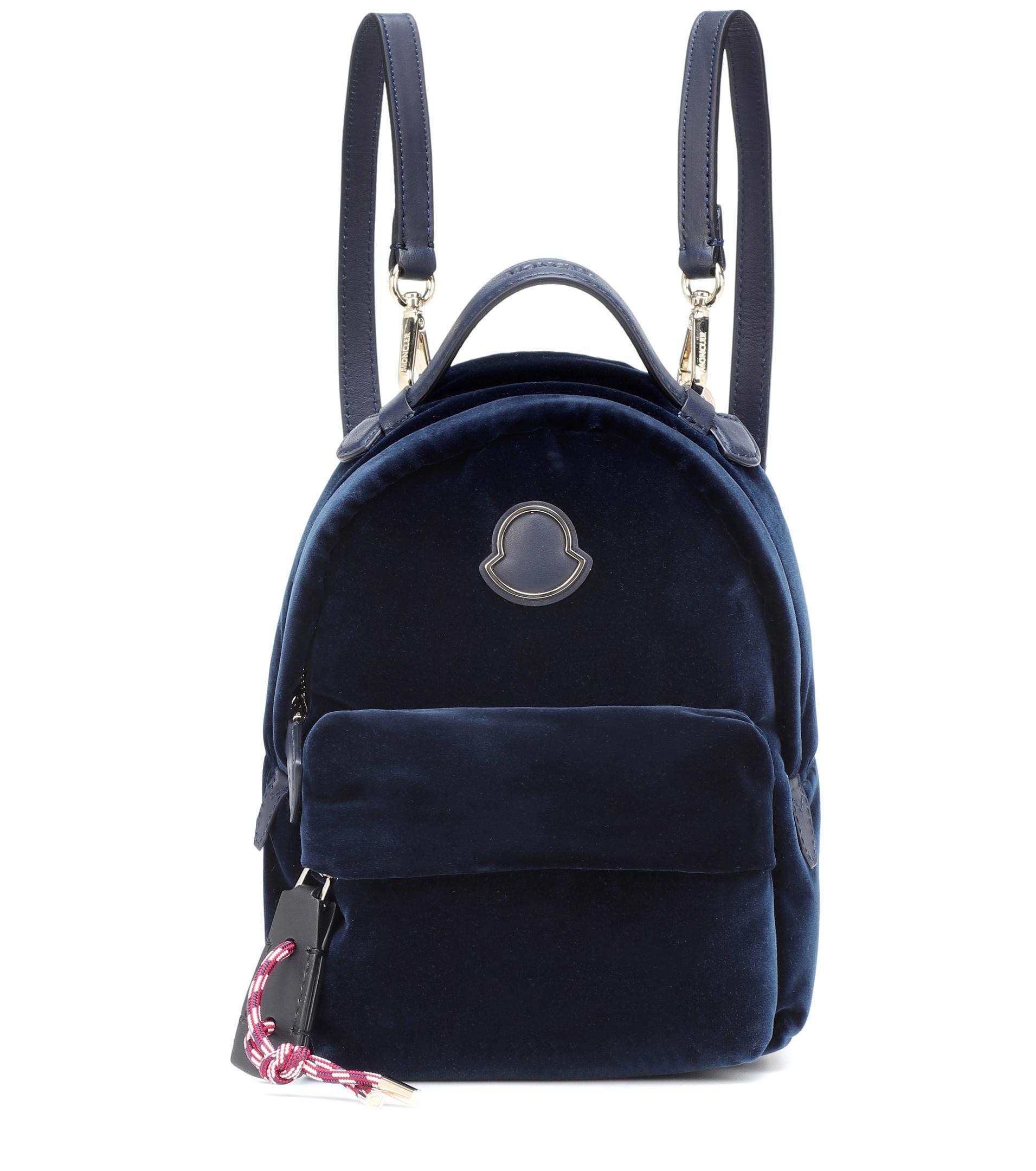 6c4108cef Moncler Juniper Backpack in Blue - Save 39% - Lyst