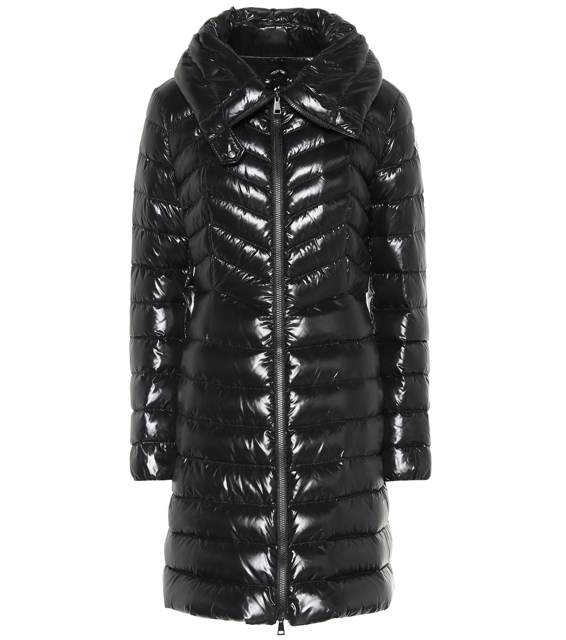 Noir en doudoune Faucon Manteau coloris Lyst Moncler xPYATIwqw