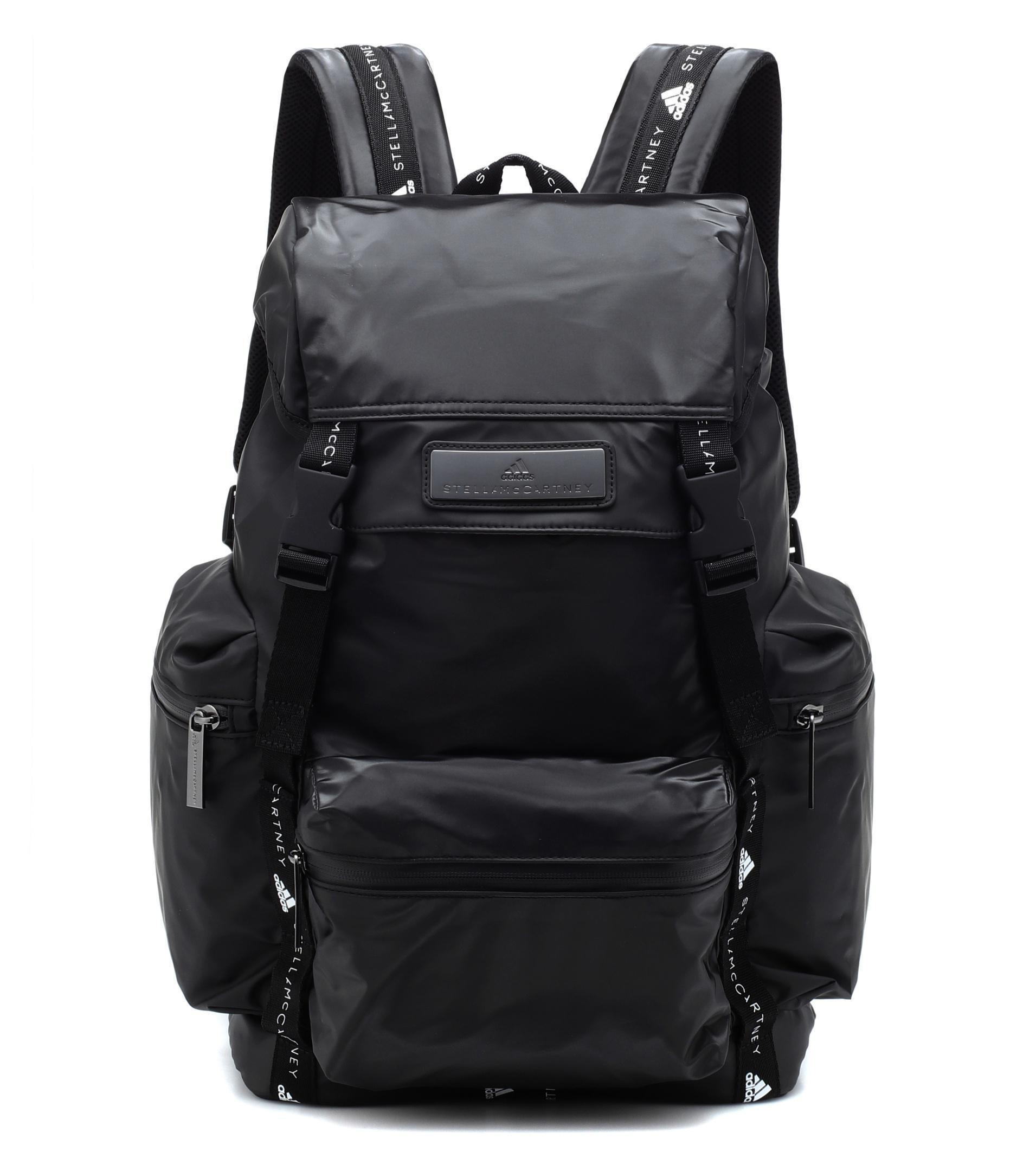 5bca86f1911c Lyst - Adidas By Stella Mccartney Technical Fabric Backpack in Black