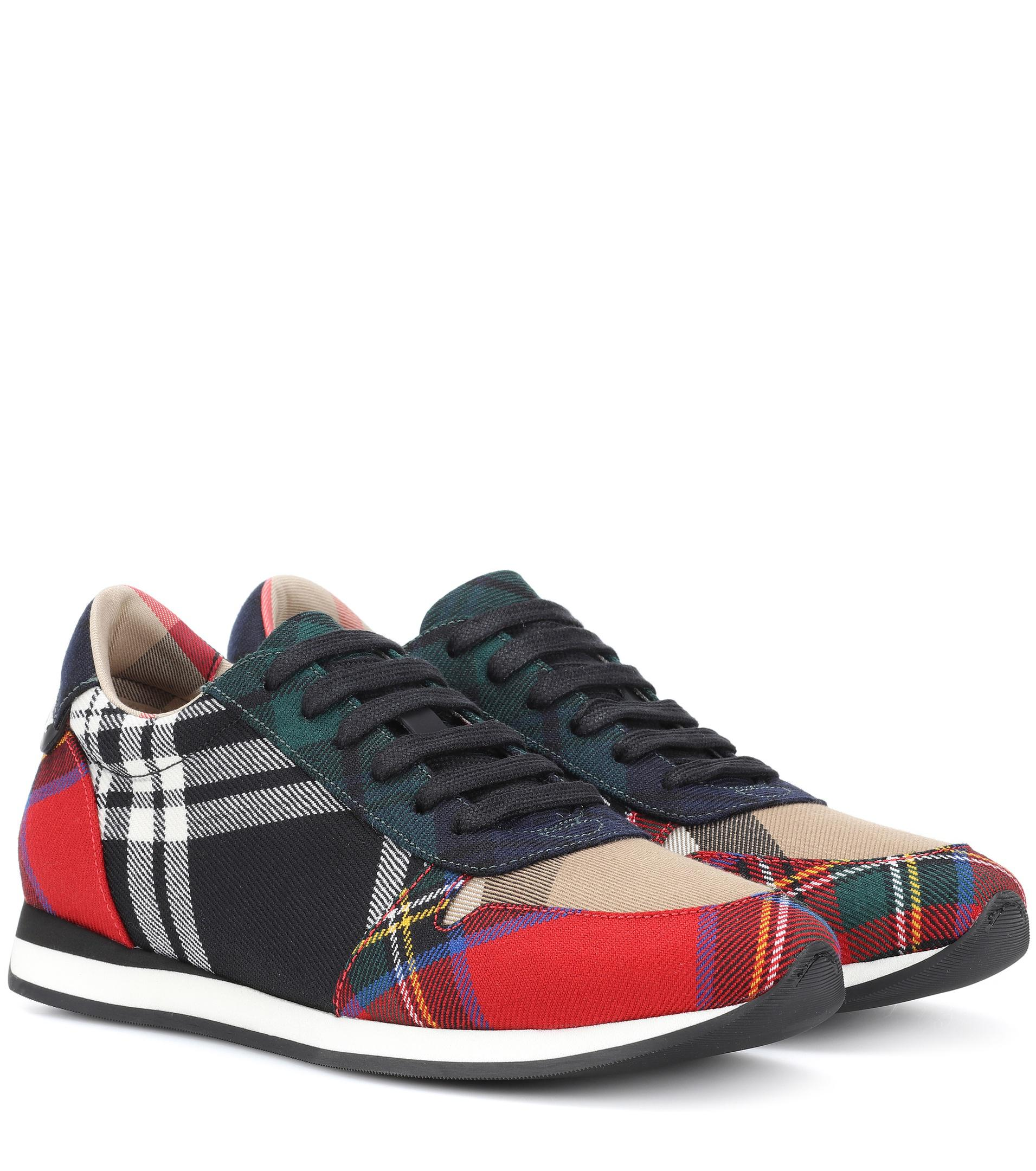 Burberry Amelia check sneakers real cheap online free shipping great deals Rsn21tDG