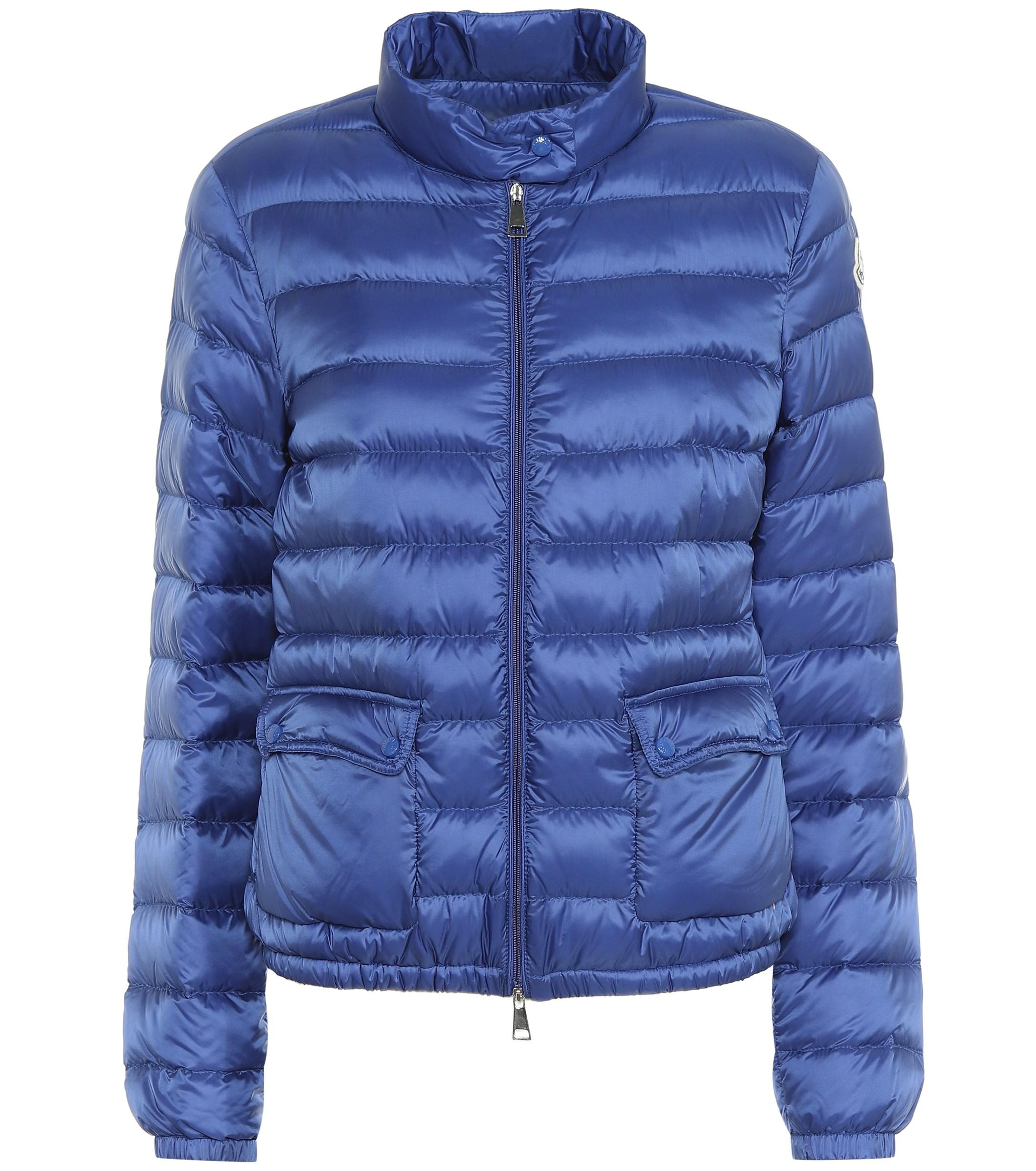 29e212ba8a3b Moncler Lans Down Jacket in Blue - Lyst