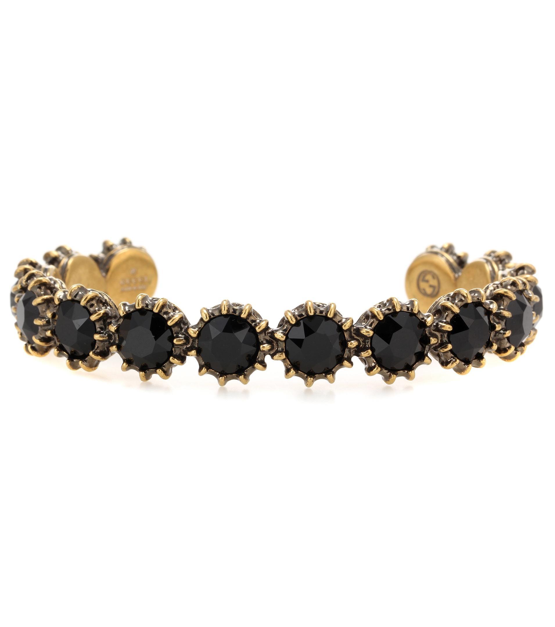 Gucci Glass stone-embellished bracelet fmUlV4
