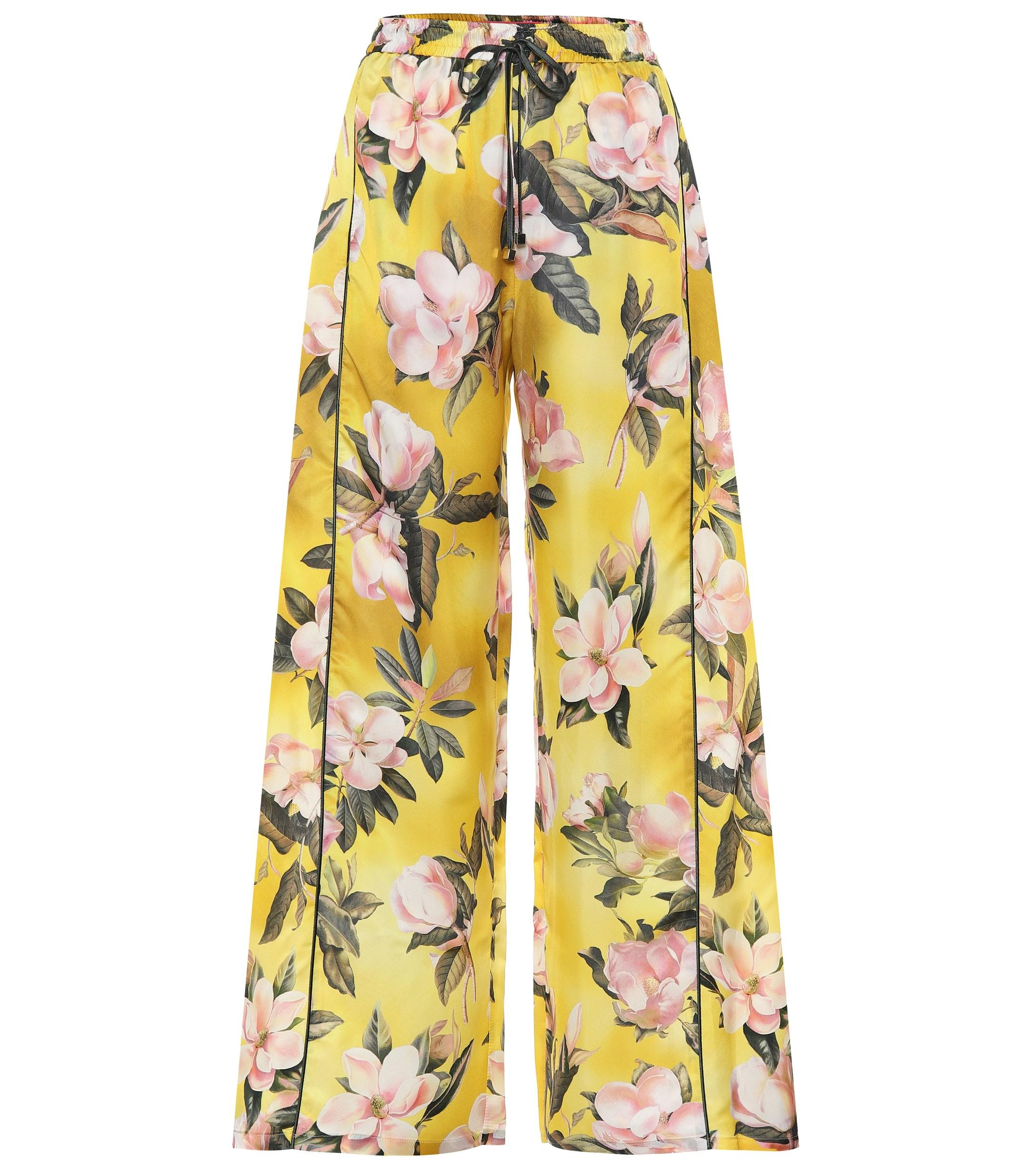 bd50d9e12 Lyst - F.R.S For Restless Sleepers Apate Satin Pajama Pants in Yellow