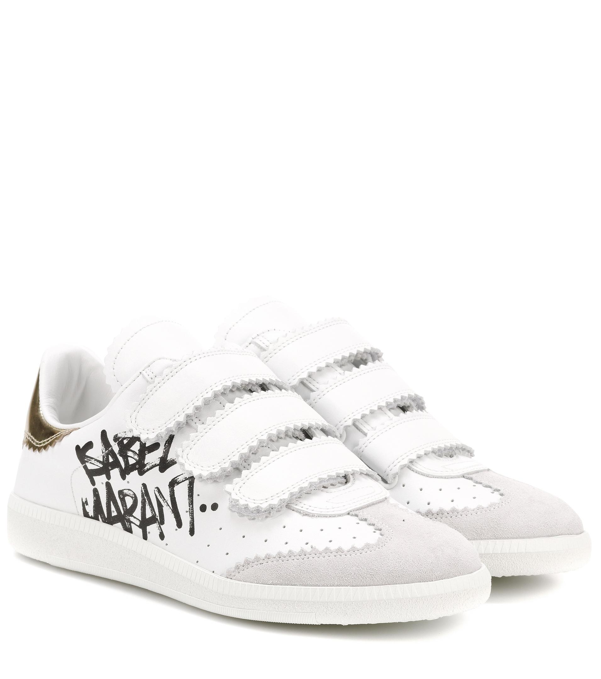 white beth leather sneakers Isabel Marant Th6AZ46