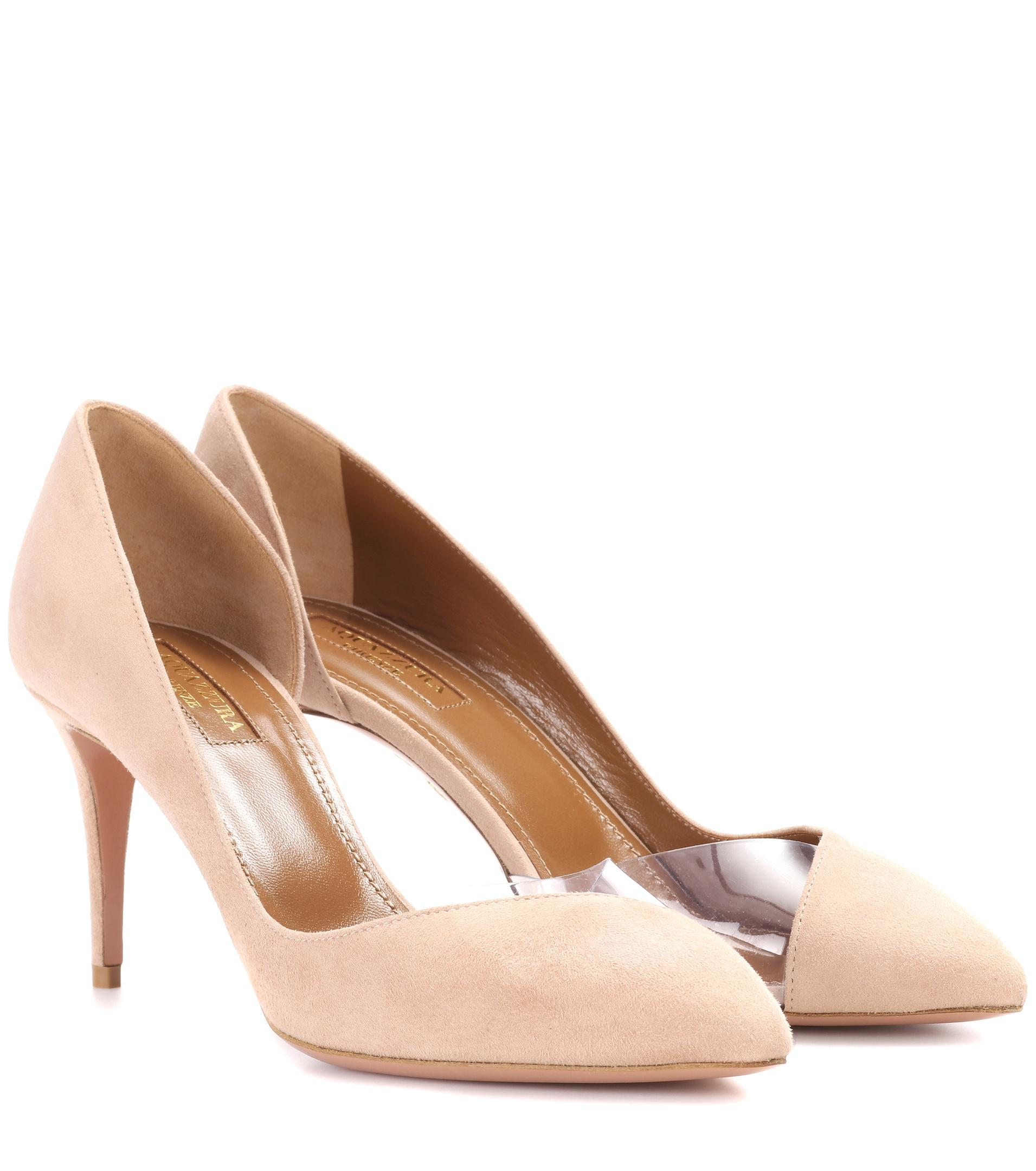 Eclipse 75 leather pumps Aquazzura Clearance Pay With Visa Sale Many Kinds Of RS6FGjeHMu